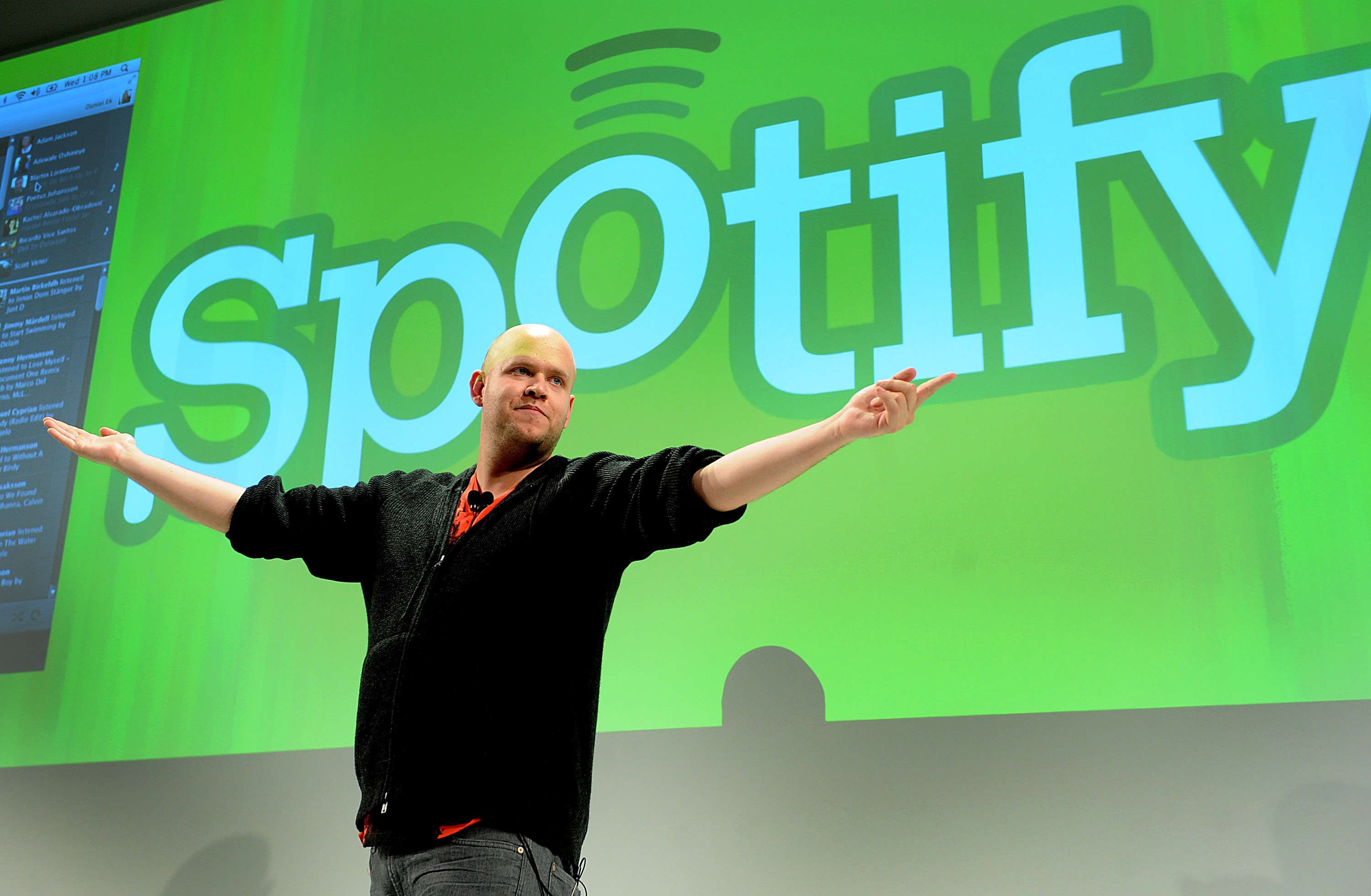 Spotify CEO Daniel Ek Makes Announcement