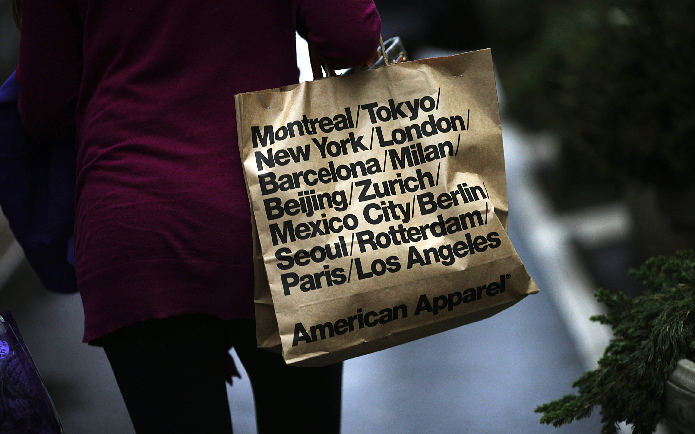 General Views Of Holiday Shopping