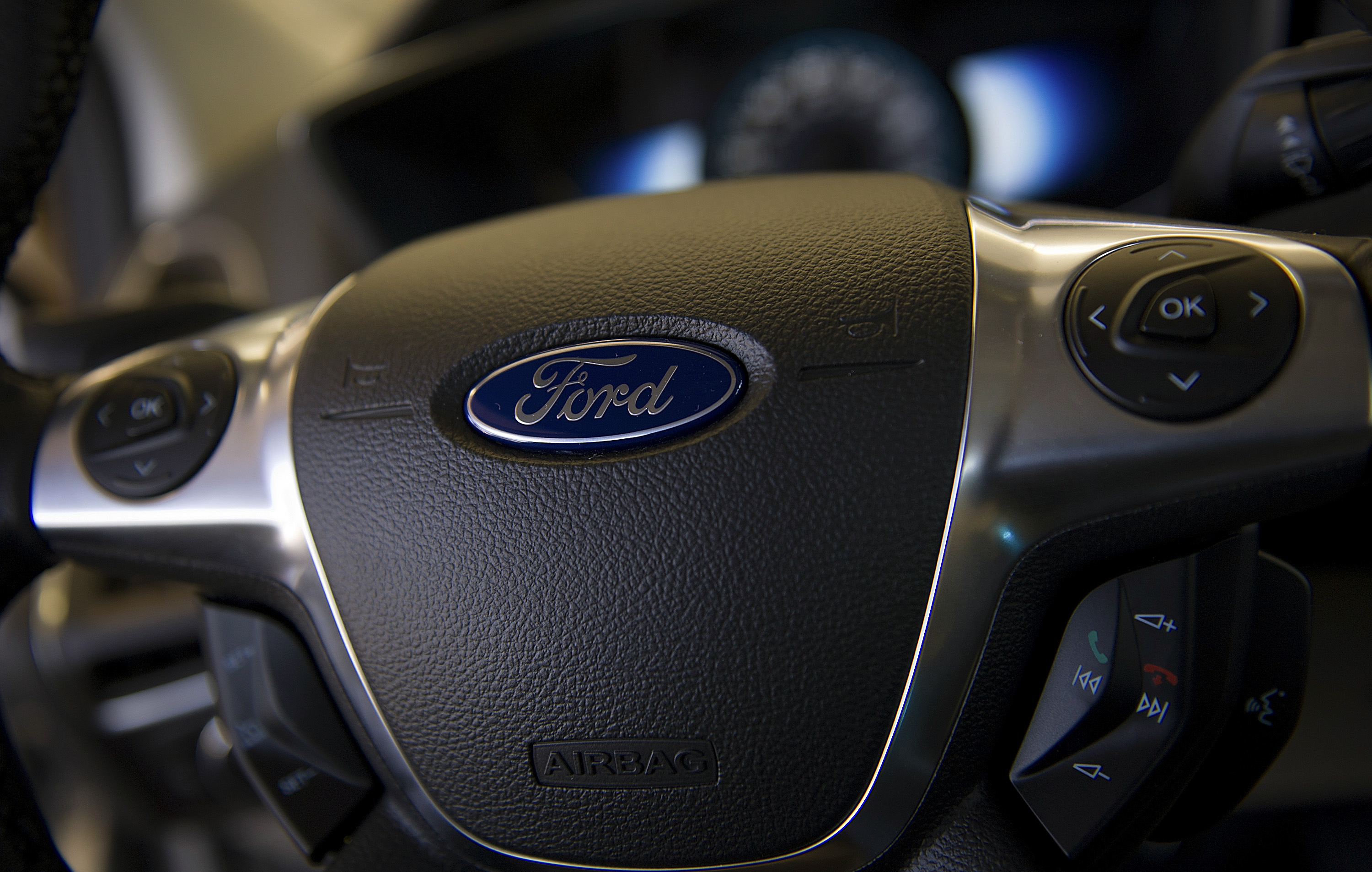 Views Of a Ford Dealership Ahead Of Company Earnings