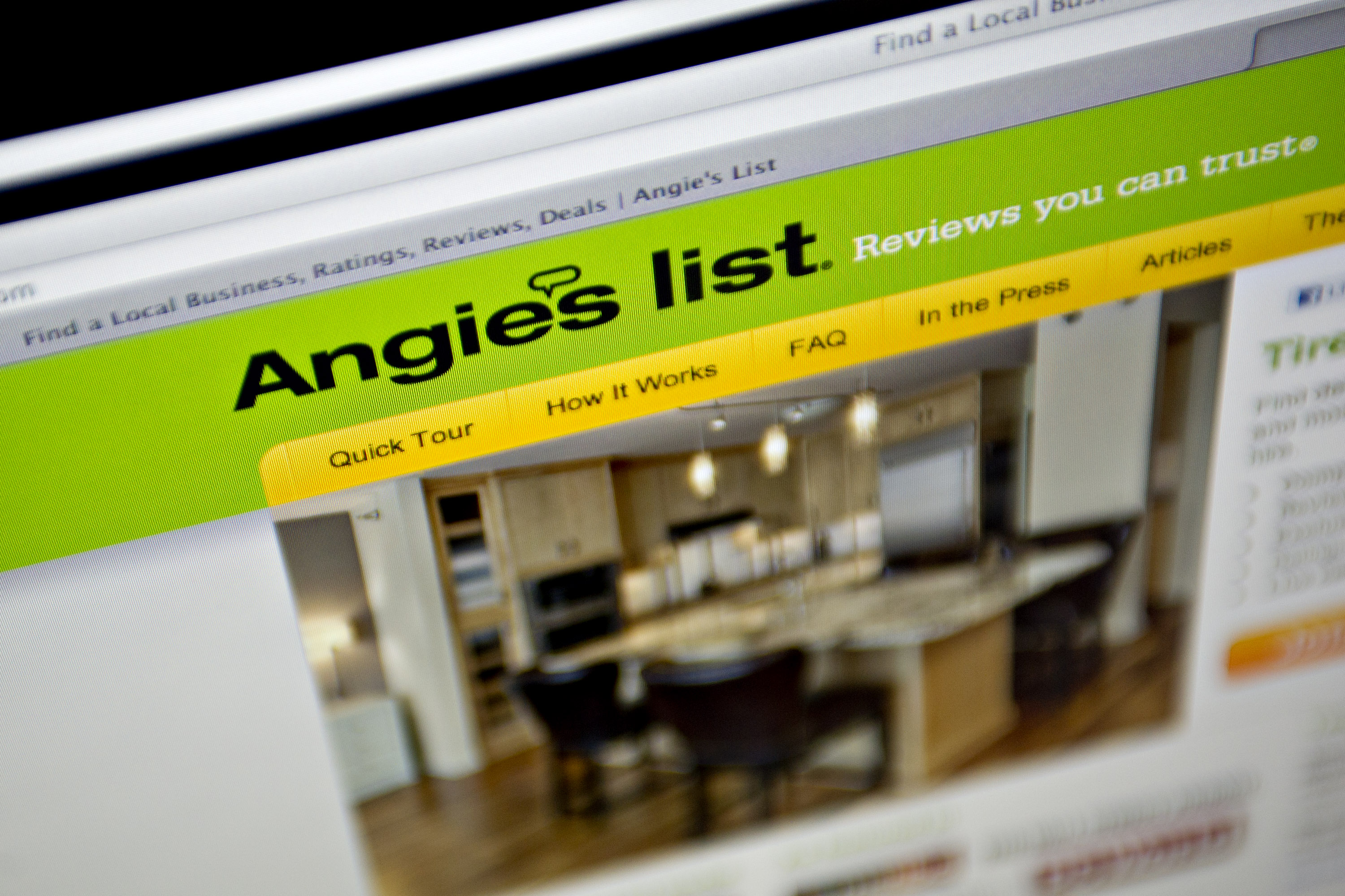 Angie's List Gains Most Since 2011 Trading Debut
