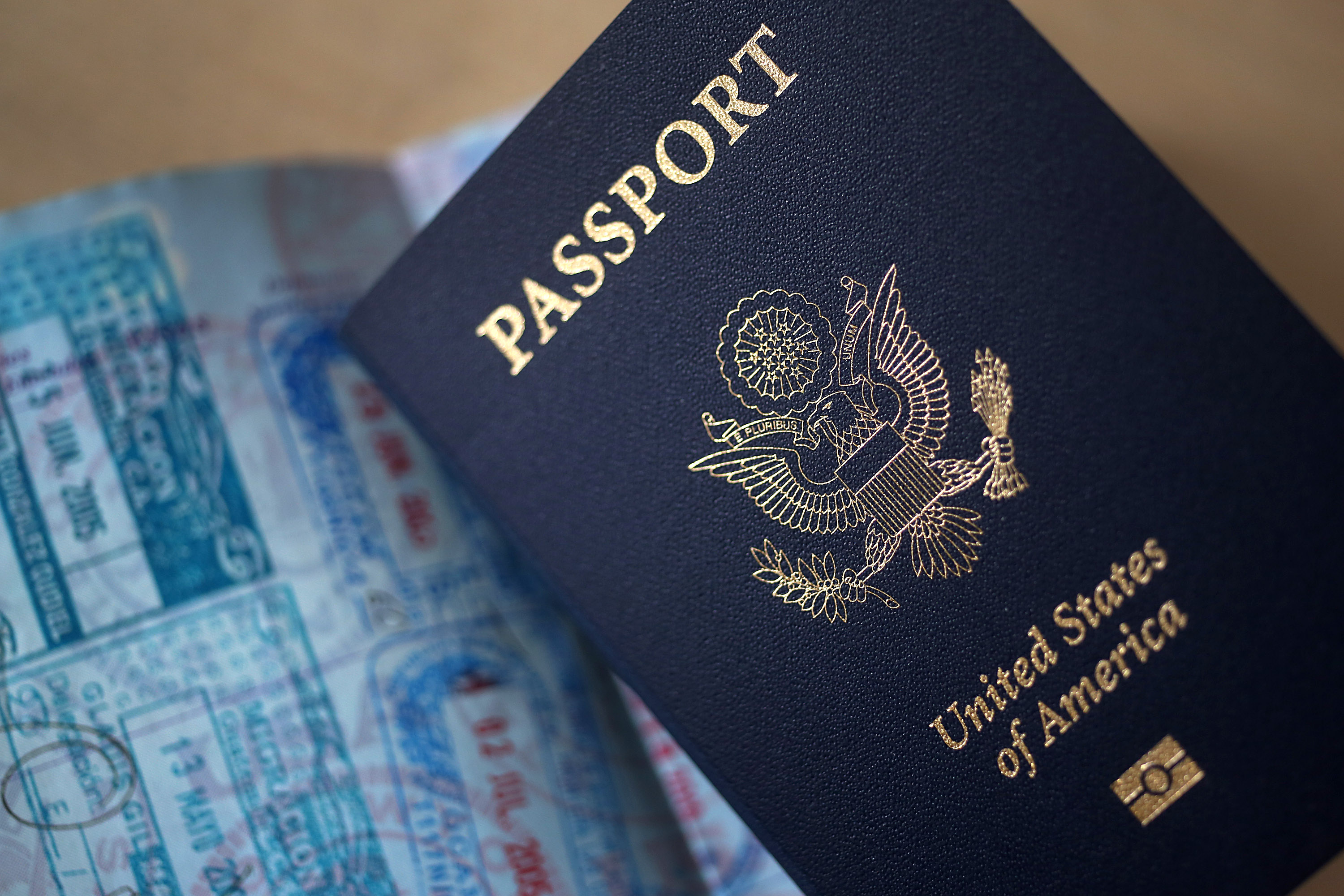 Views Of U.S. Passports As Obama Deportation Deferrals Likely to Be Blocked