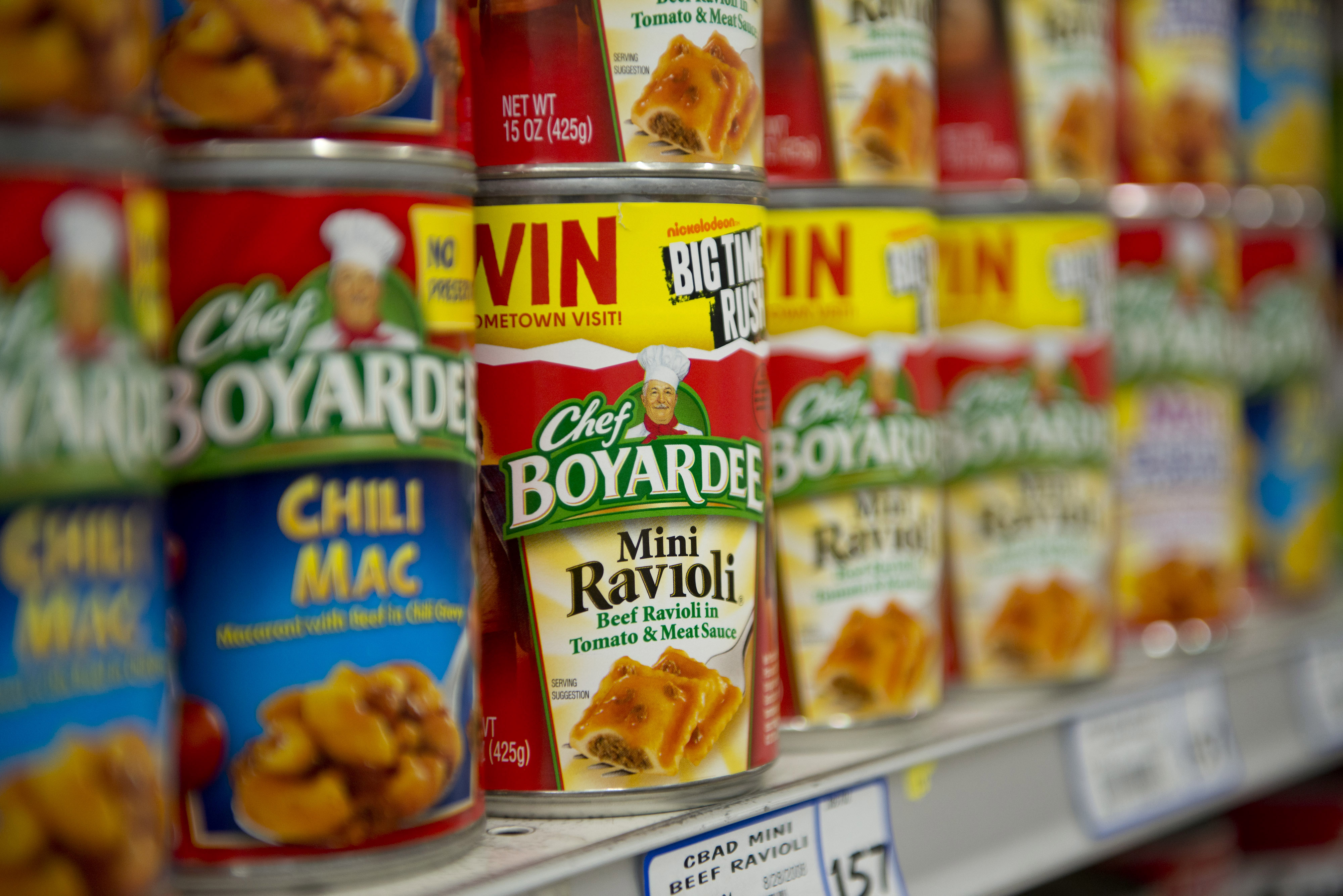 ConAgra Brand Products On the Shelf Ahead of Earnings Figures