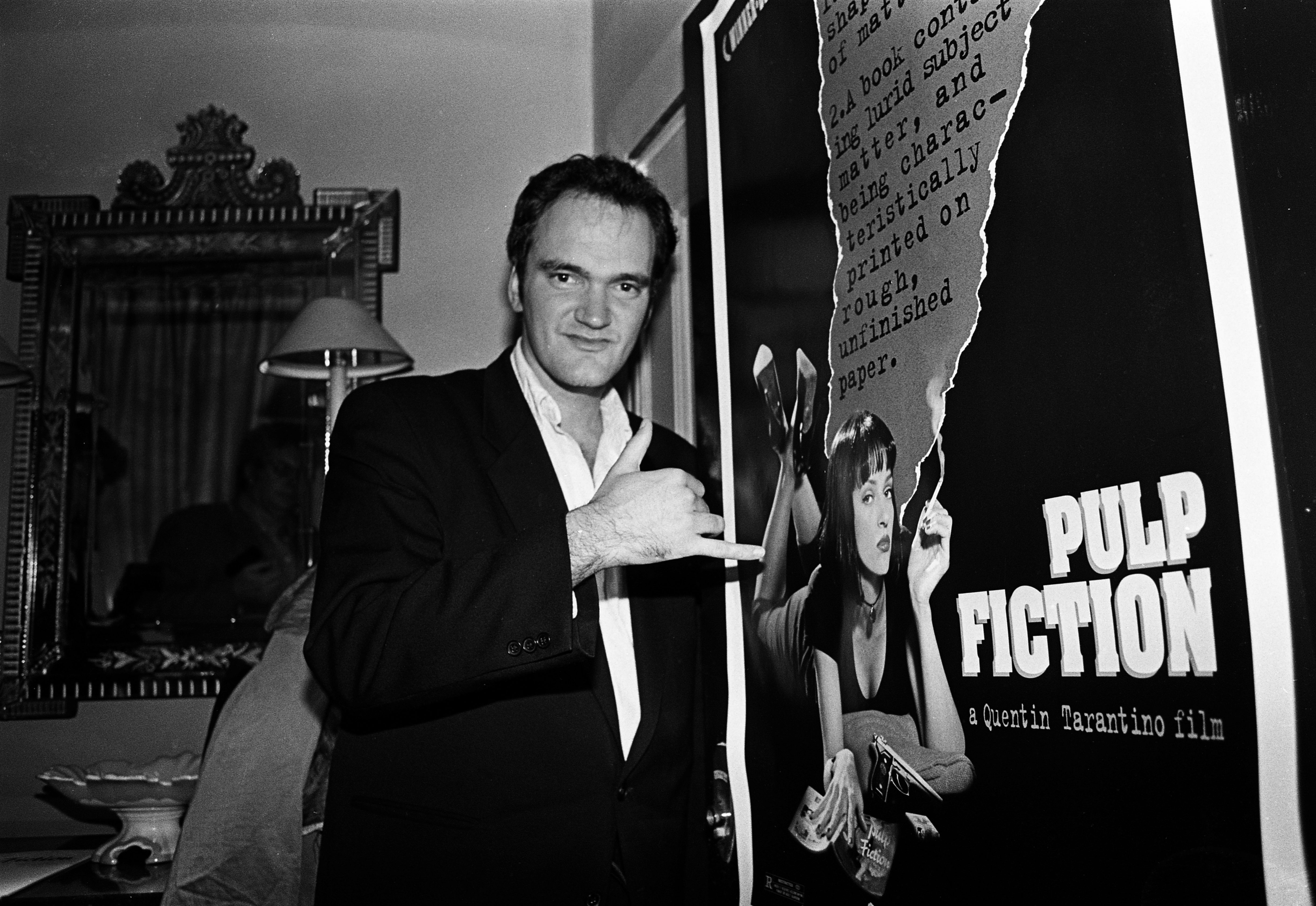 Quentin Tarantino London 1994