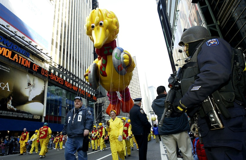 The 77th Annual Macys Thanksgiving Day Parade In New York
