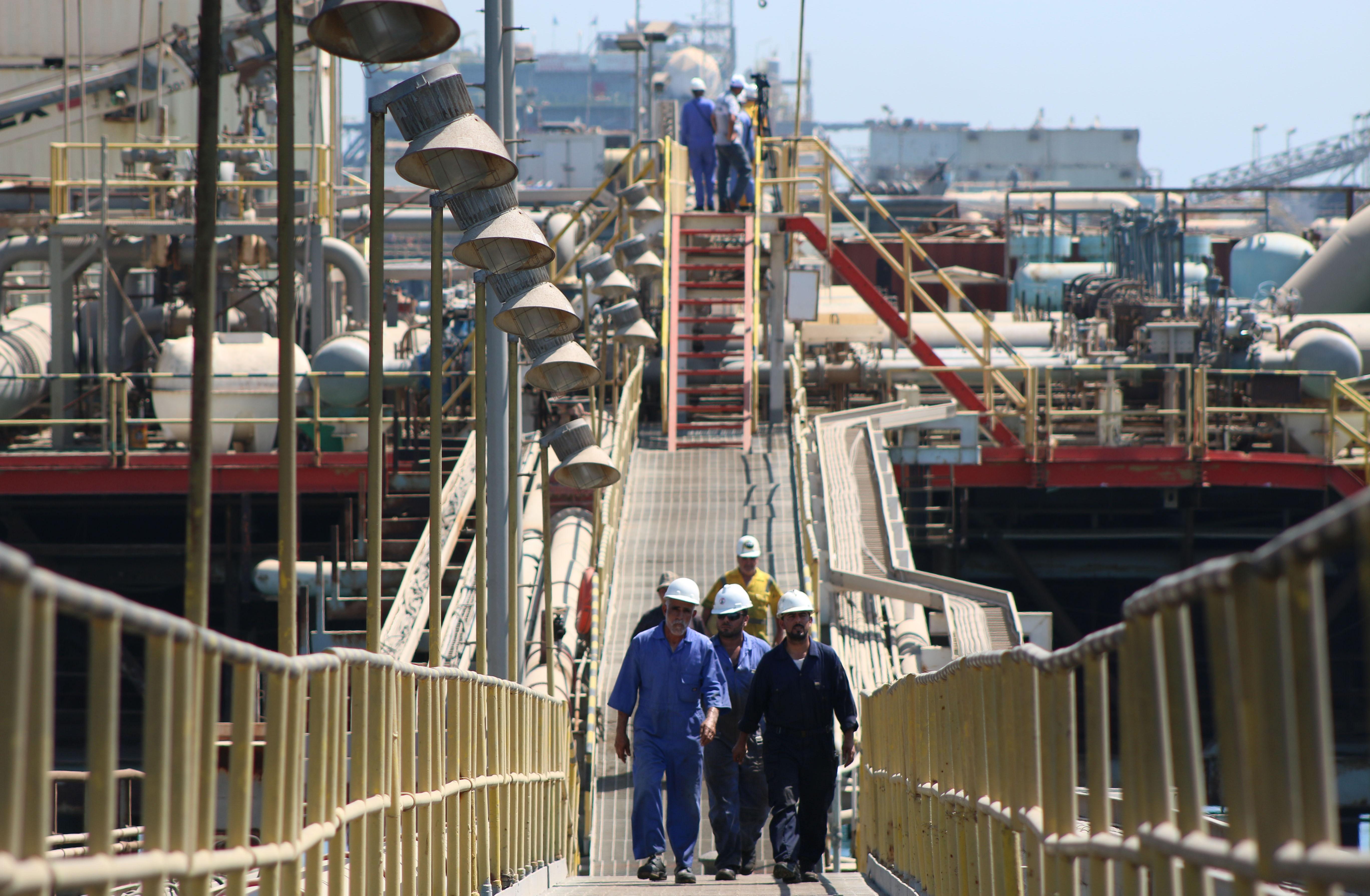 IRAQ-ECONOMY-OIL
