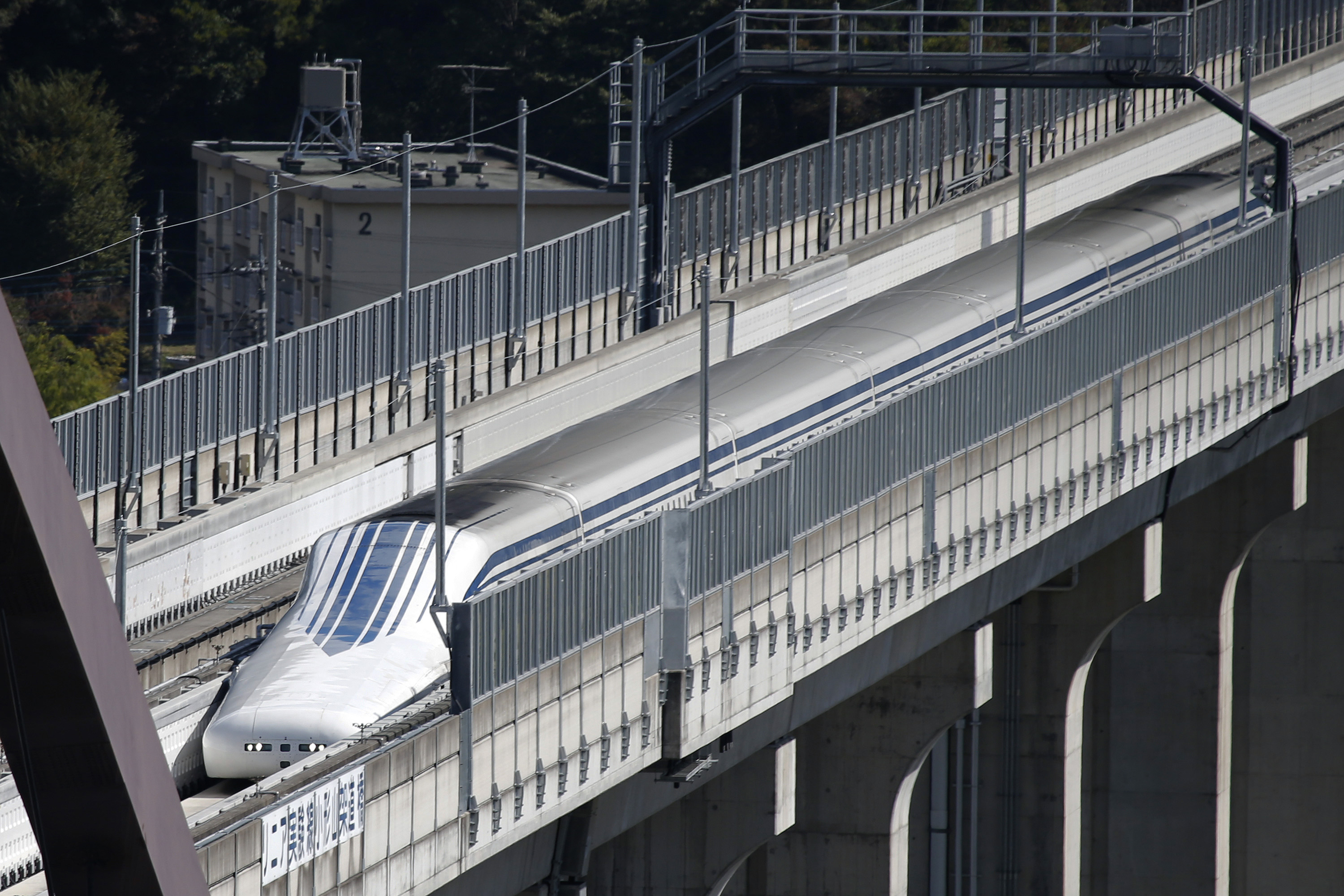 U.S. Party Including Northeast Maglev CEO Wayne Rogers Visits Yamanashi Maglev Test Track