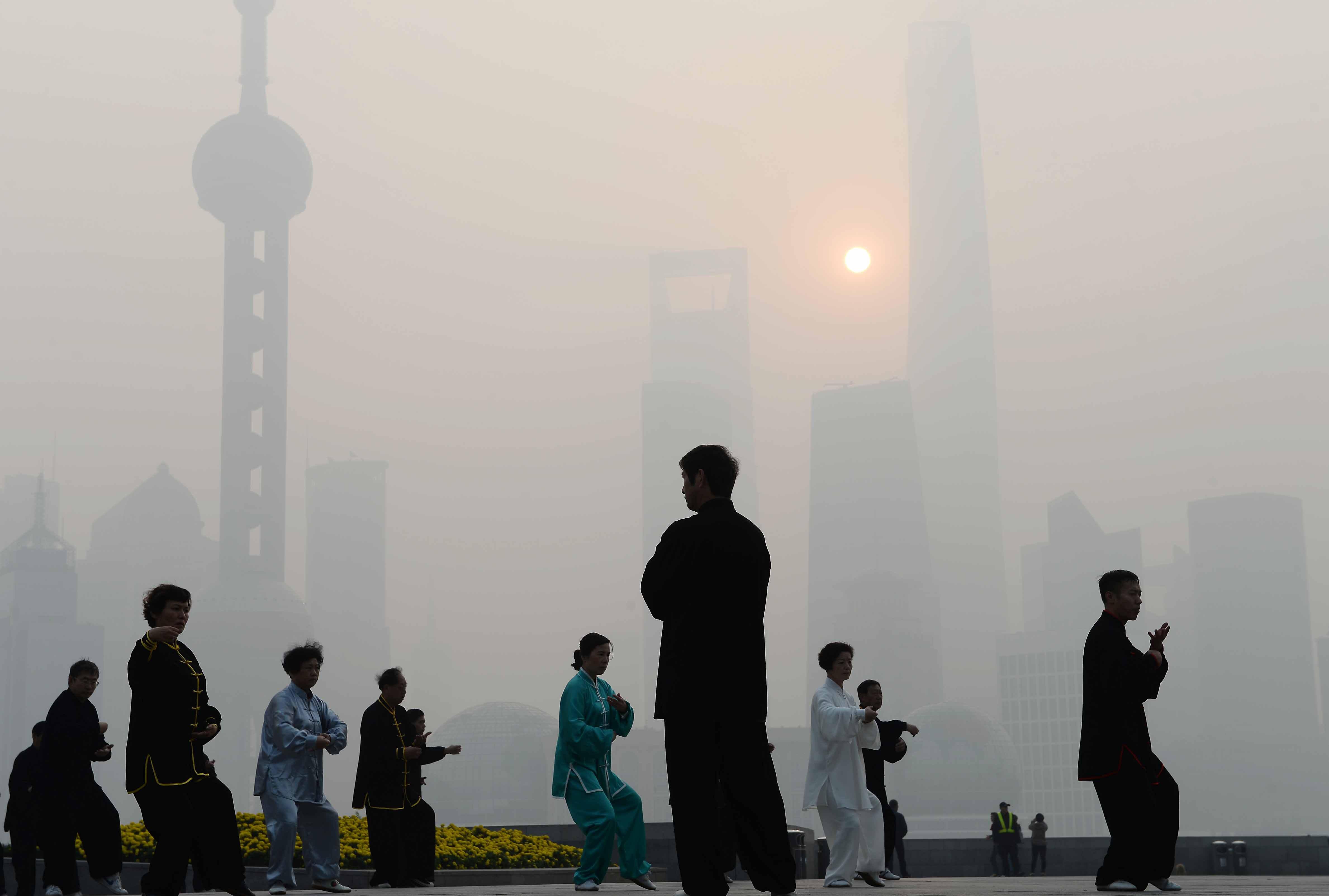 CHINA-ENVIRONMENT-CLIMATE