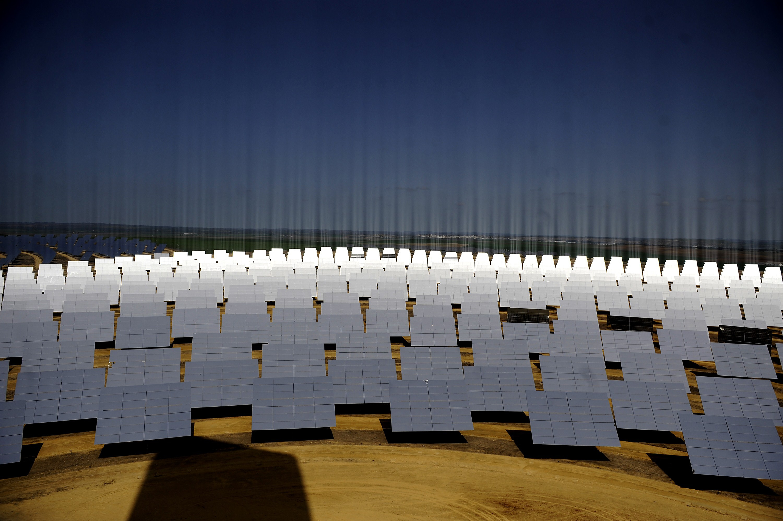 SPAIN-ENVIRONMENT-SOLAR-ENERGY