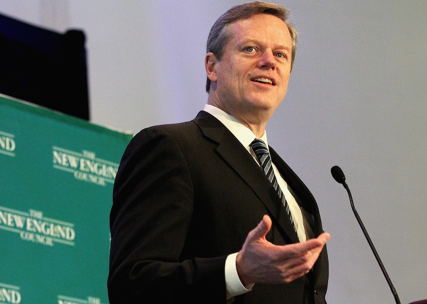 Gov. Baker Addresses New England Council Breakfast
