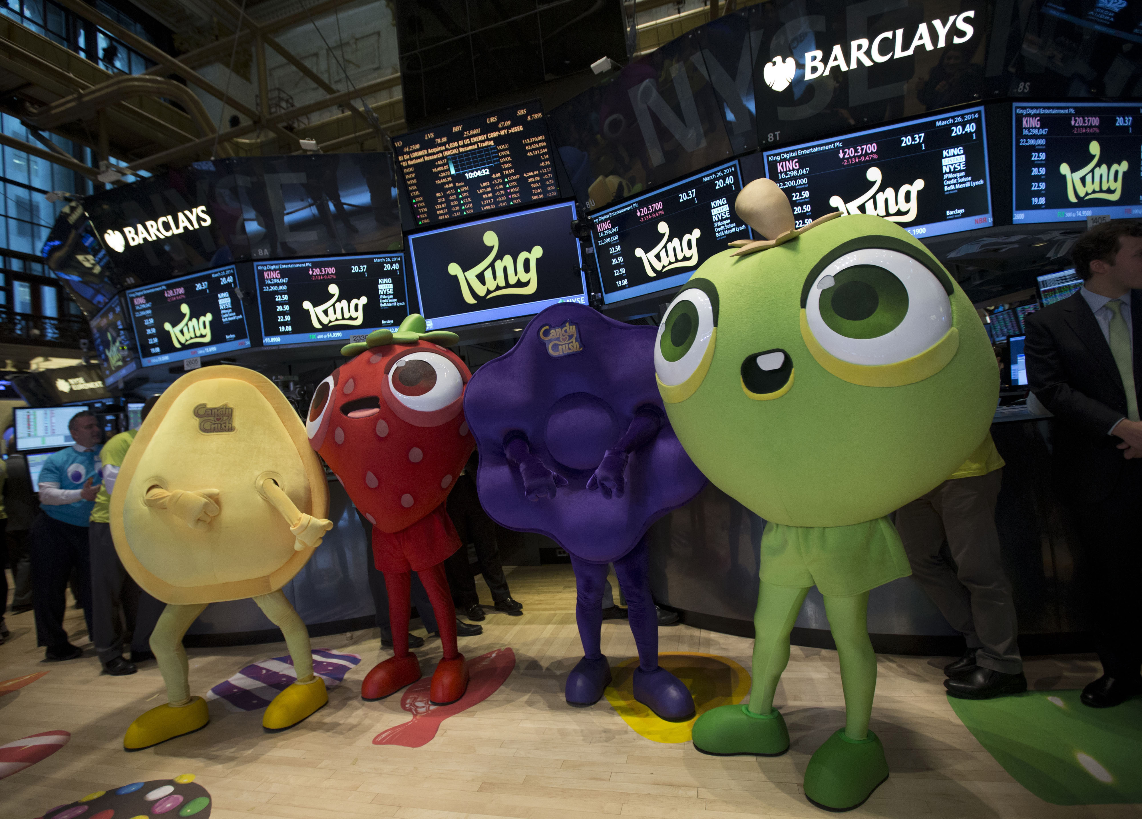 "King Raises $500 Million in ""Candy Crush"" Maker's U.S. Offering"