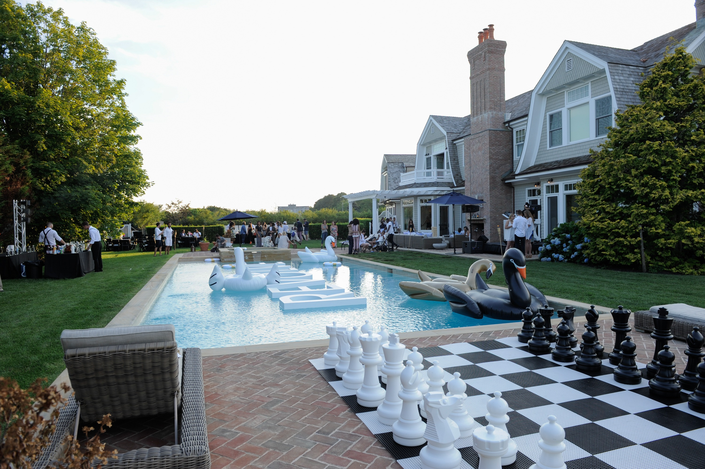 Revolve's Summer Party In The Hamptons.