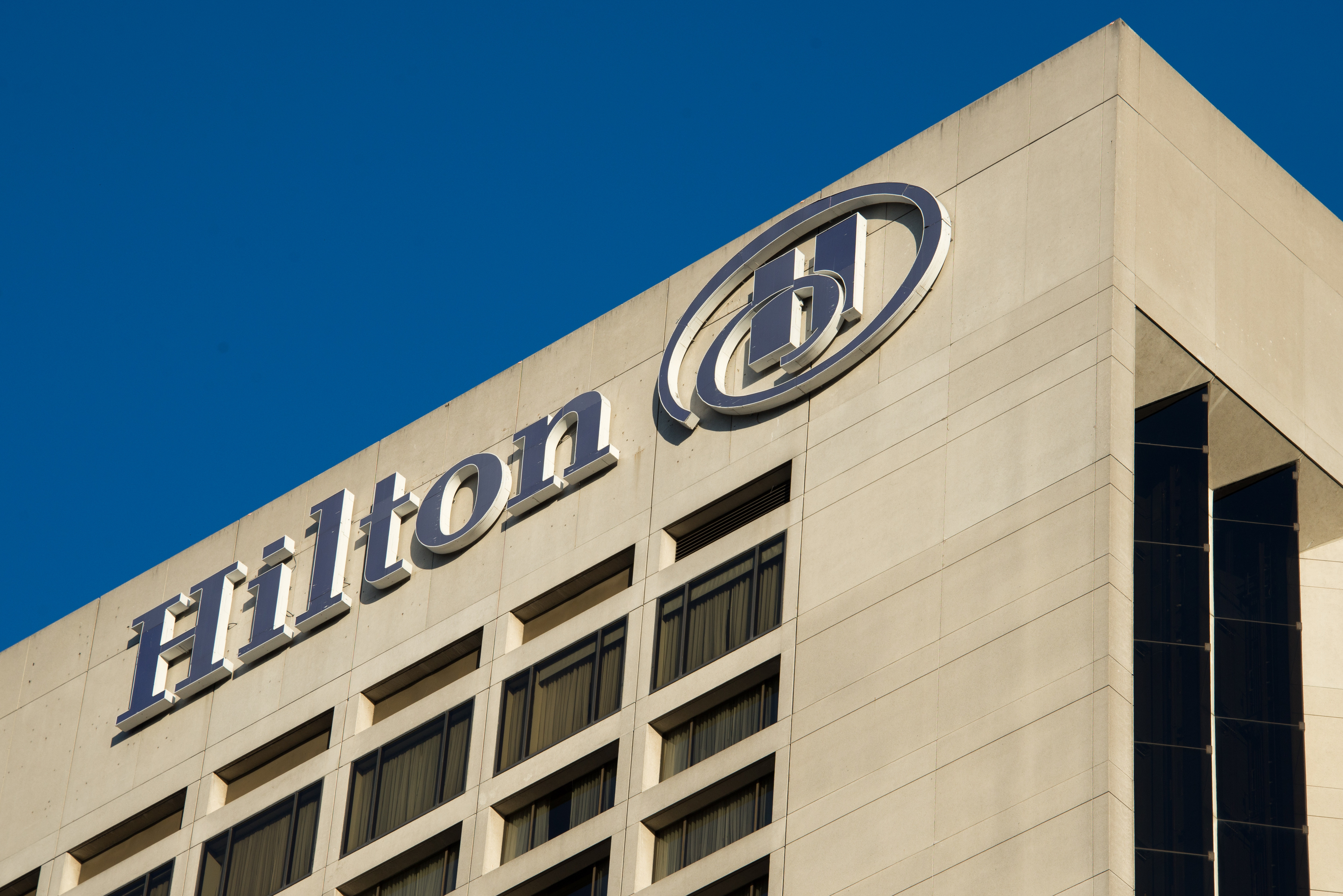 Hilton Hotel is an international brand of hotels and resorts