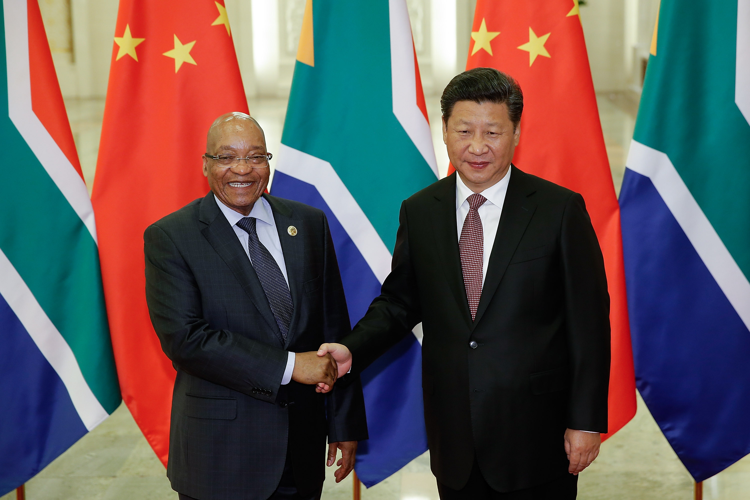South African President Jacob Zuma Visits China