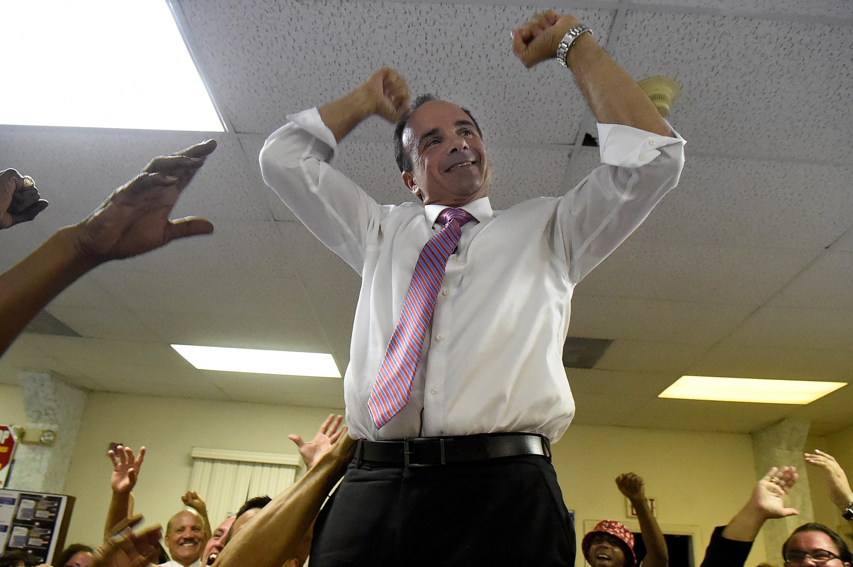 Joe Ganim wins Democratic mayoral primary in Bridgeport