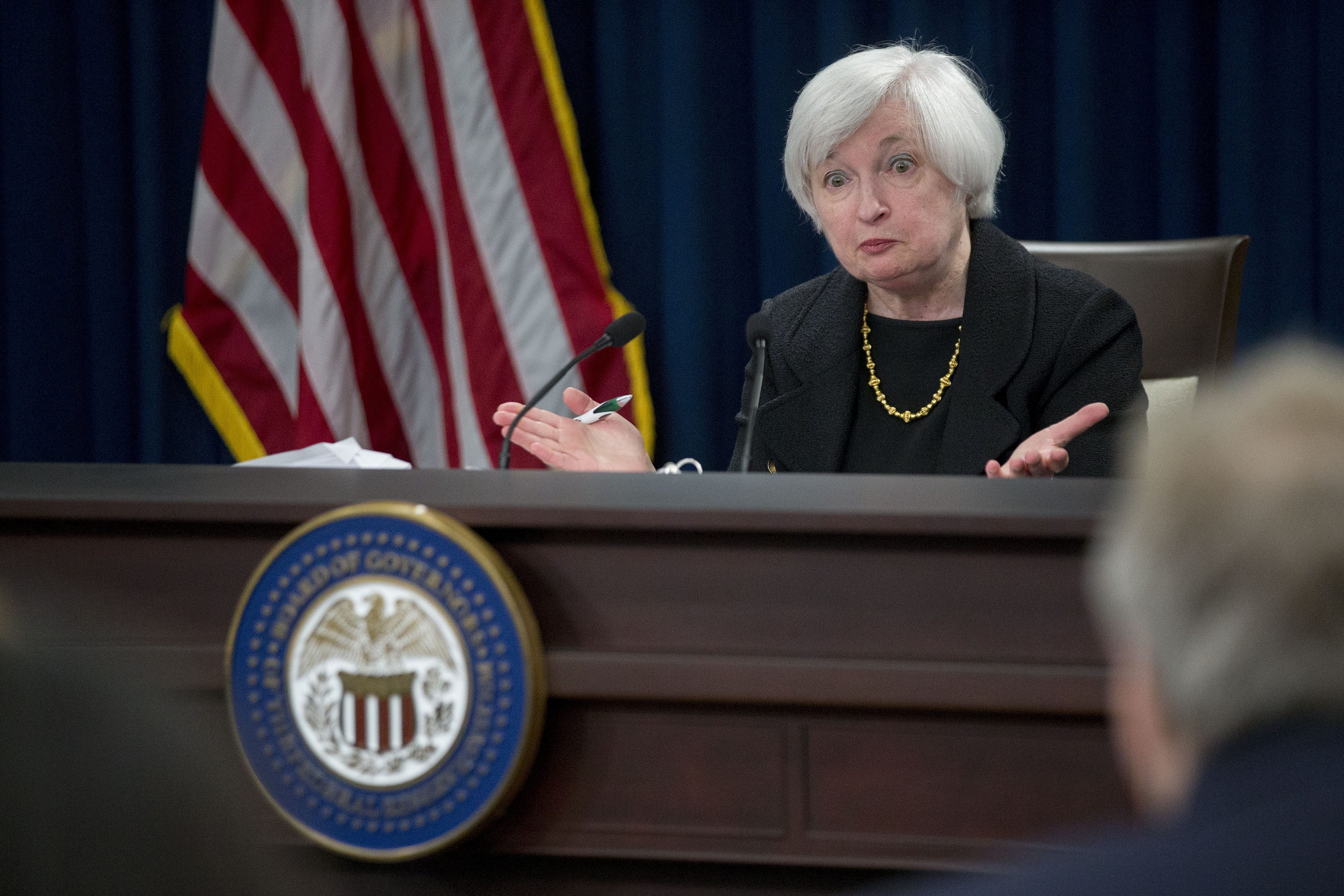 U.S. Federal Reserve Chair Janet Yellen News Conference Following FOMC Meeting