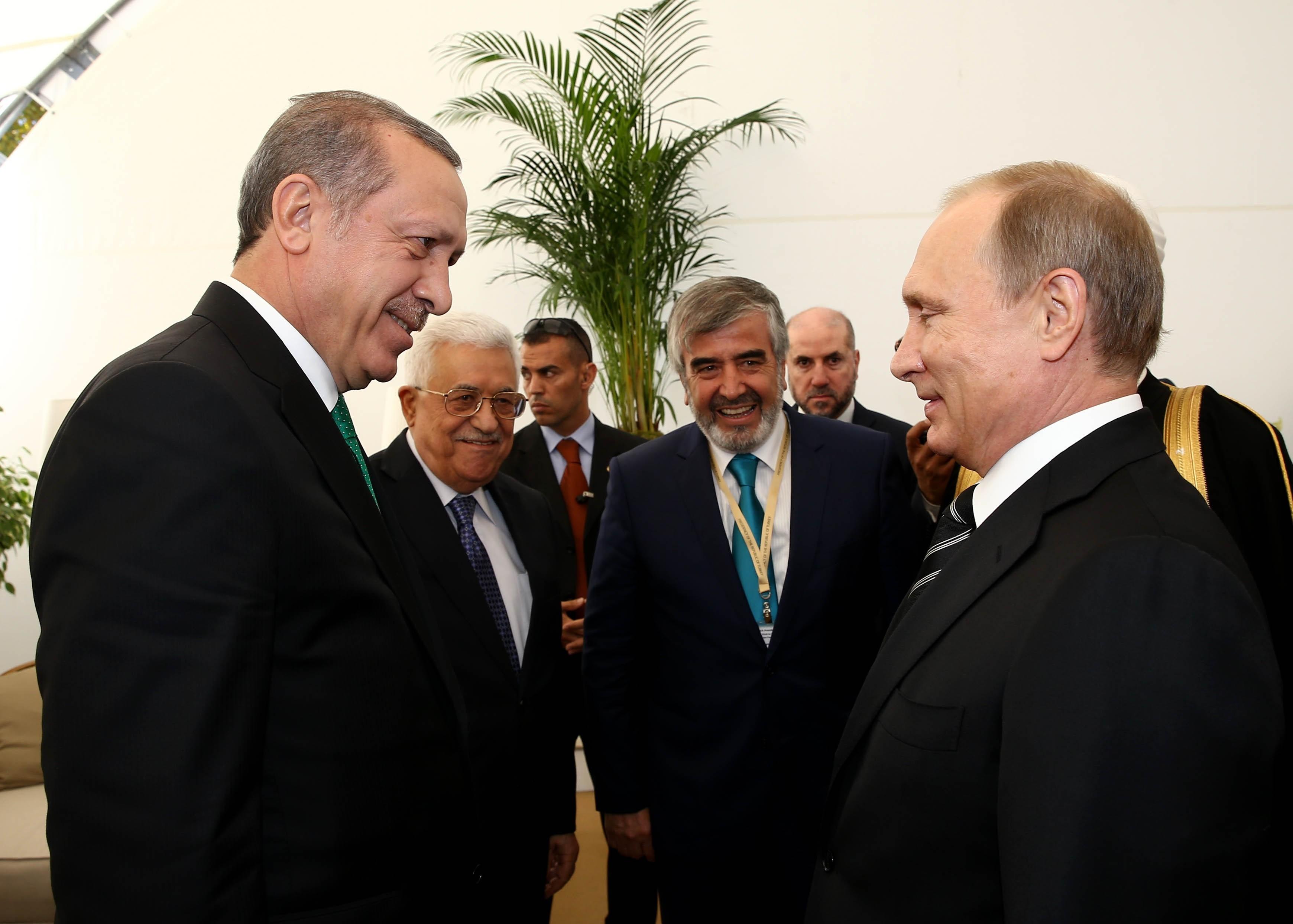 Turkey's President Recep Tayyip Erdogan in Moscow