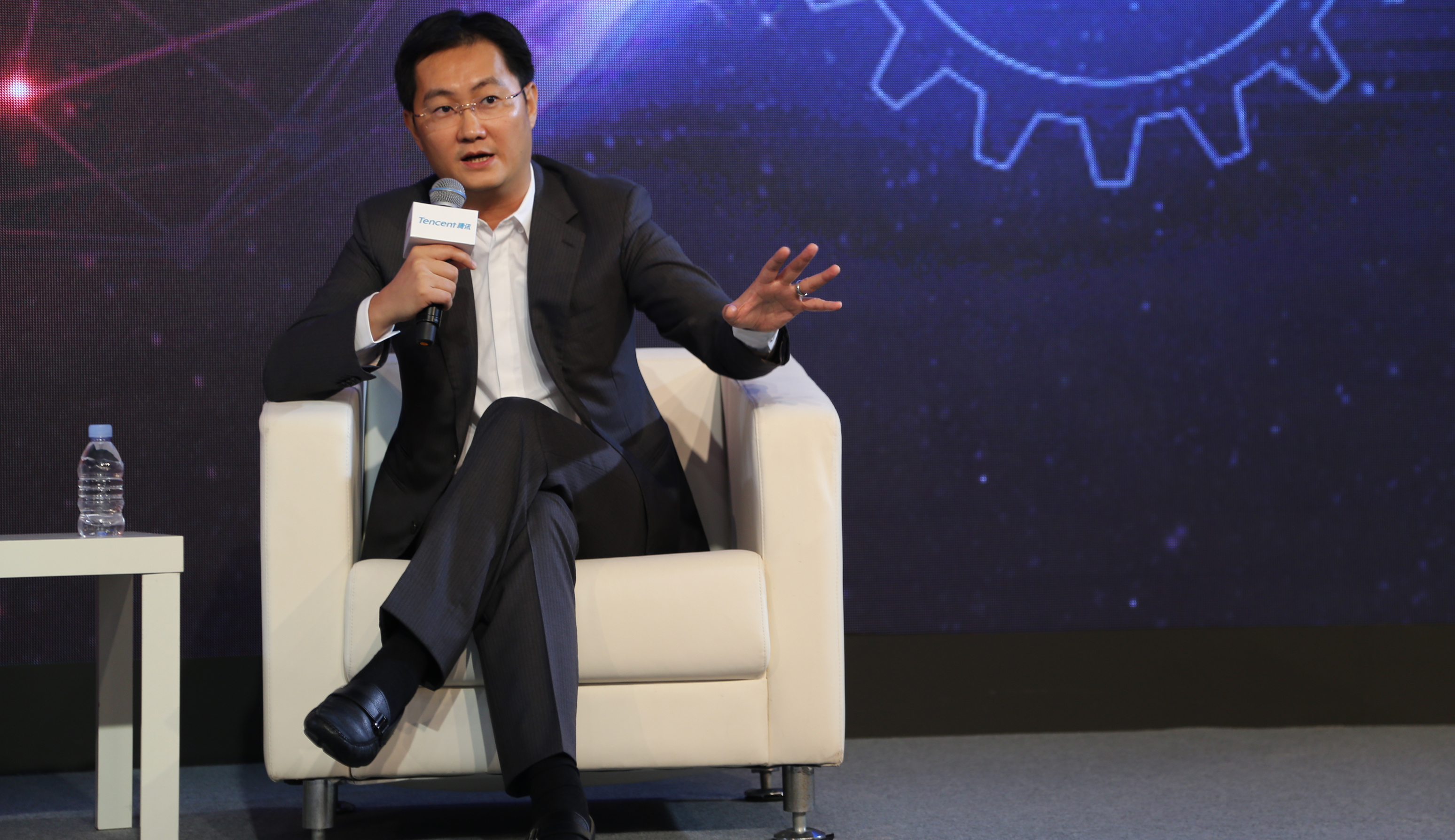 Tencent & JD.COM Strategic Cooperation Press Conference In Beijing
