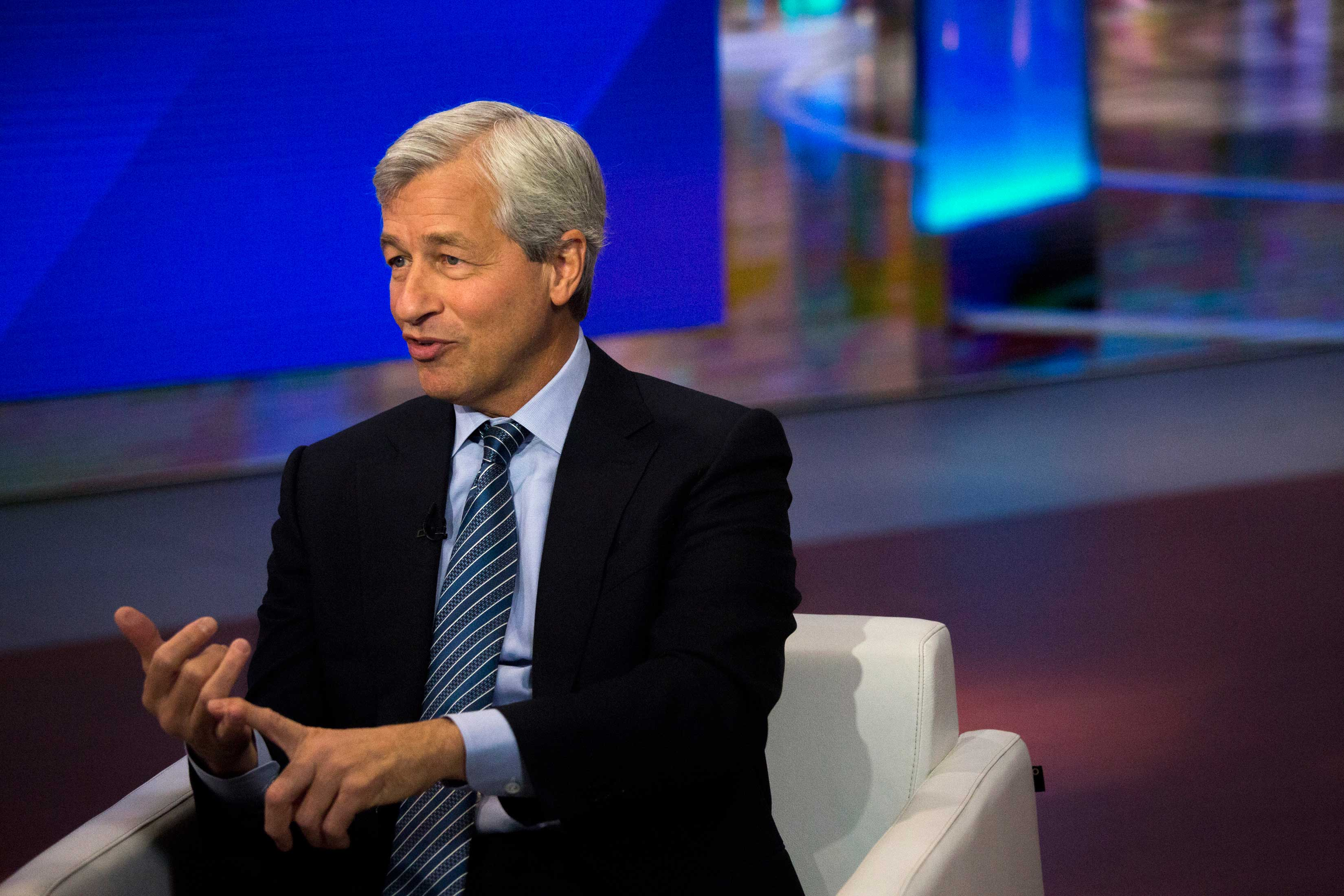 JPMorgan Chase & Co. Chief Executive Officer Jamie Dimon Interview