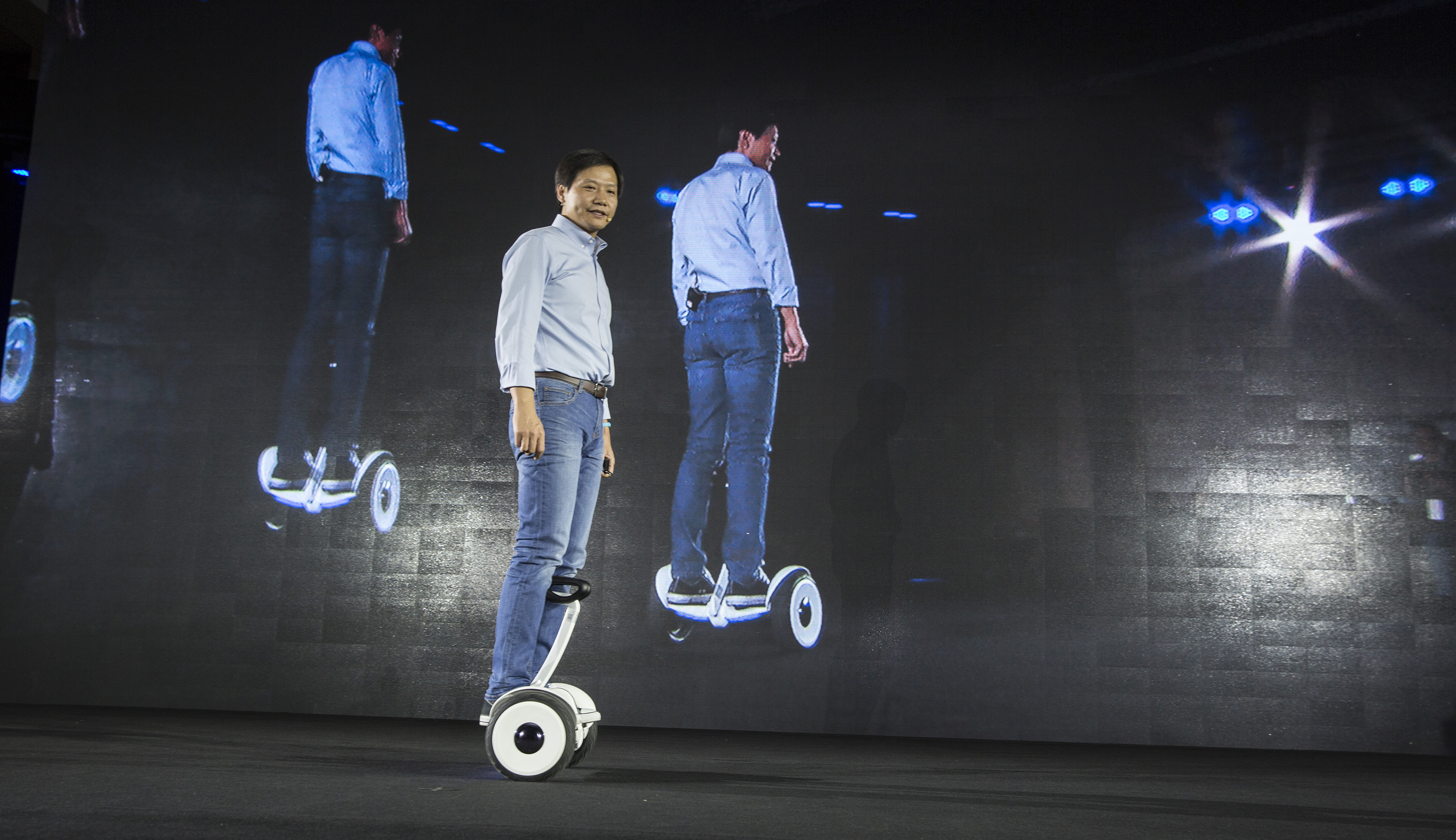 Xiaomi Launches Mi TV3 And Ninebot In Beijing