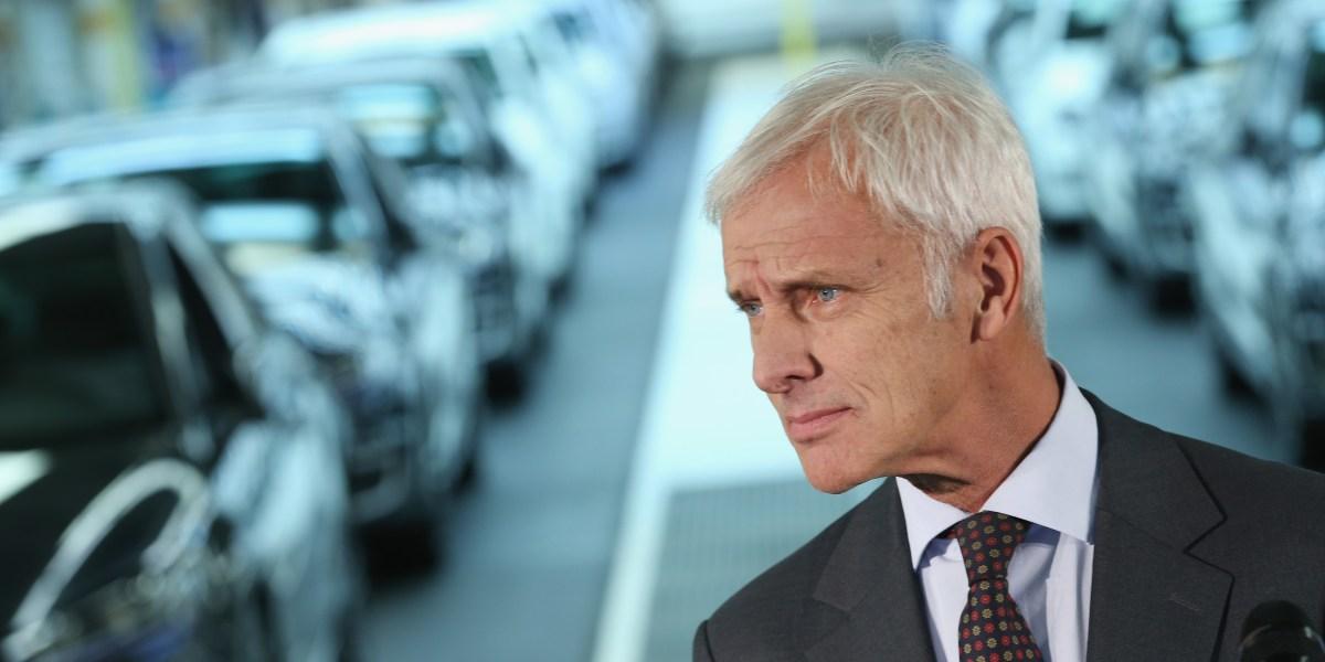 Volkswagen Shares Plummet After New Emissions Bombshell