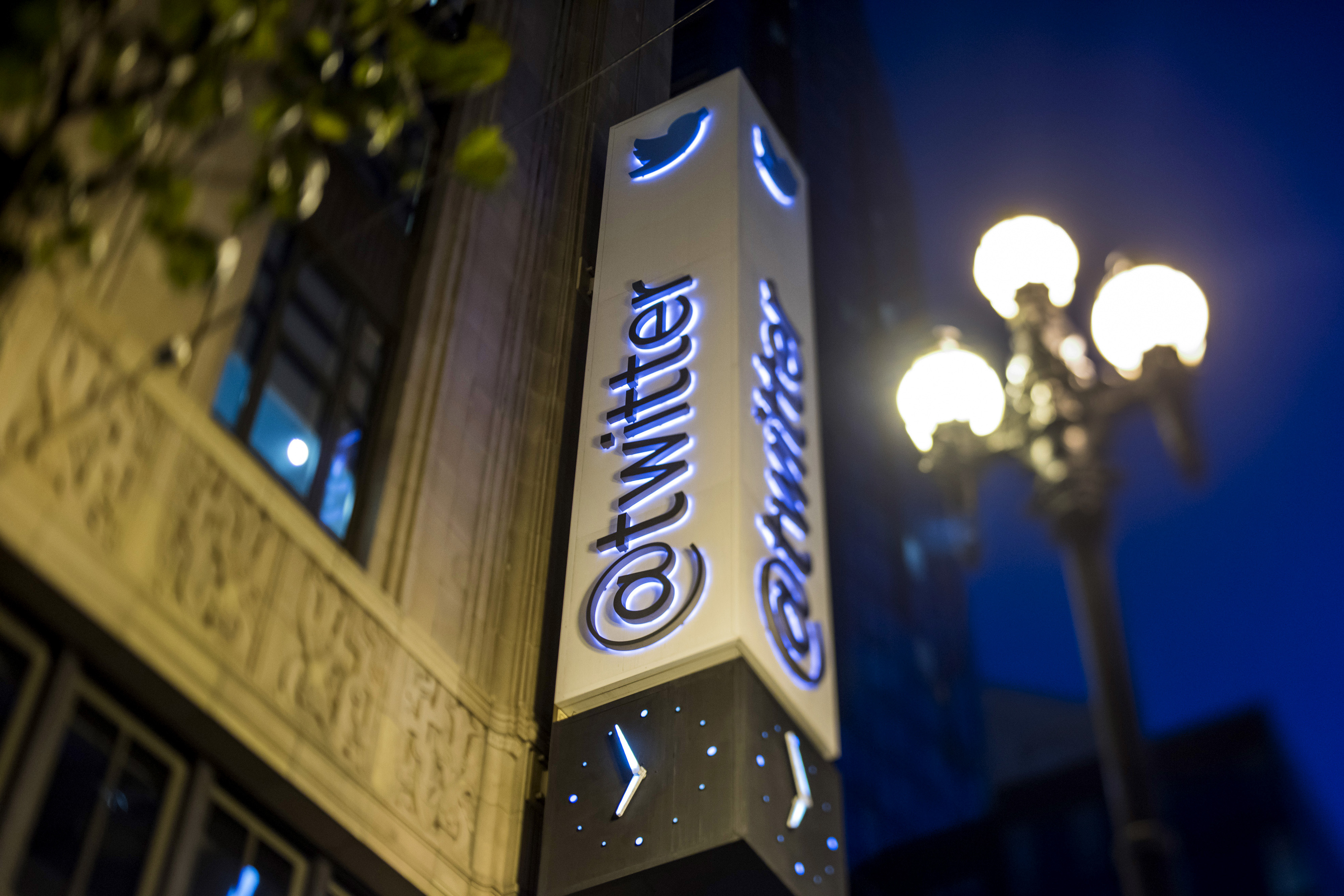 Twitter Inc. Headquarters Ahead Of Earnings Figures