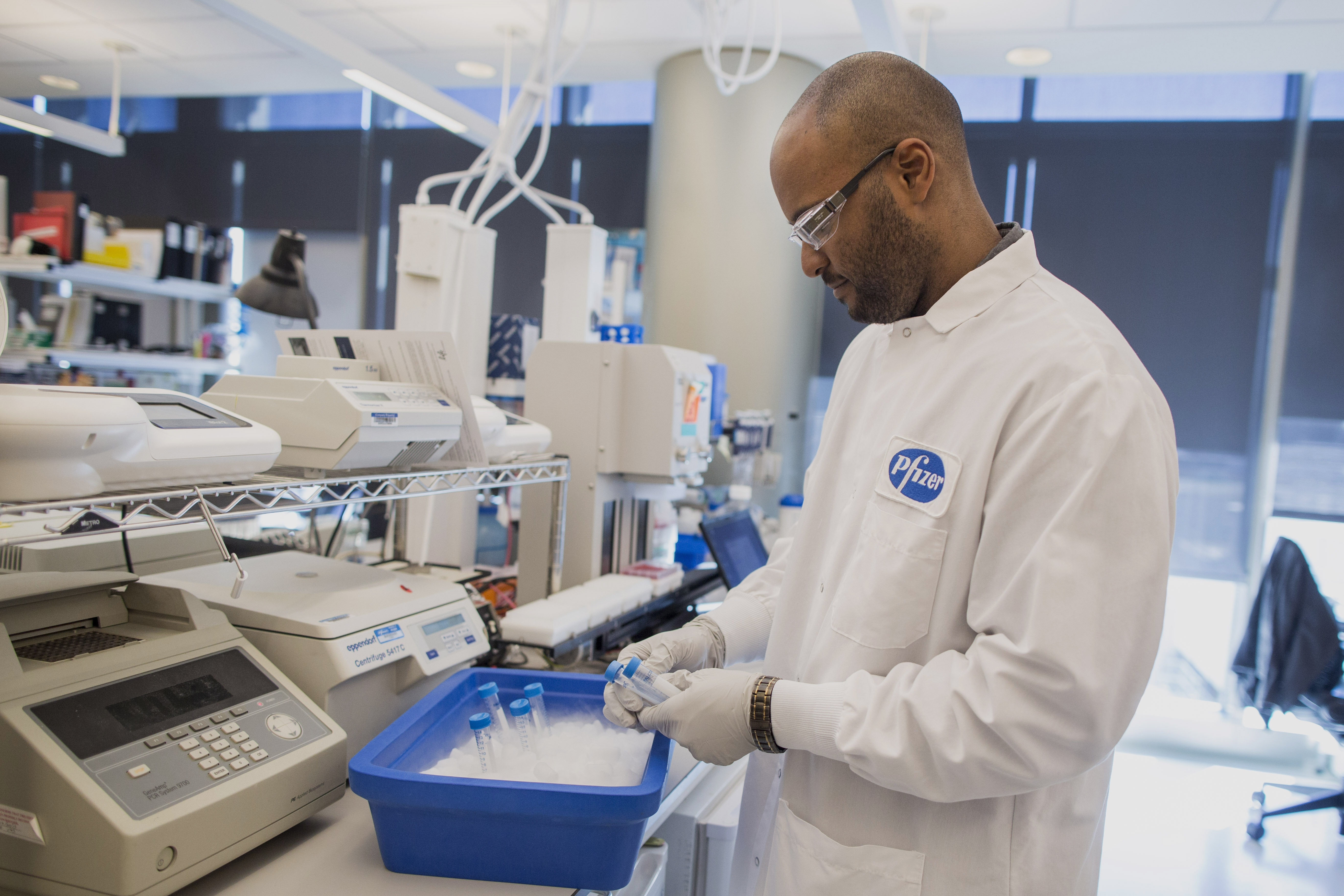 Inside The Pfizer Inc. Kendall Square Research Facility Ahead Of Earnings Figures