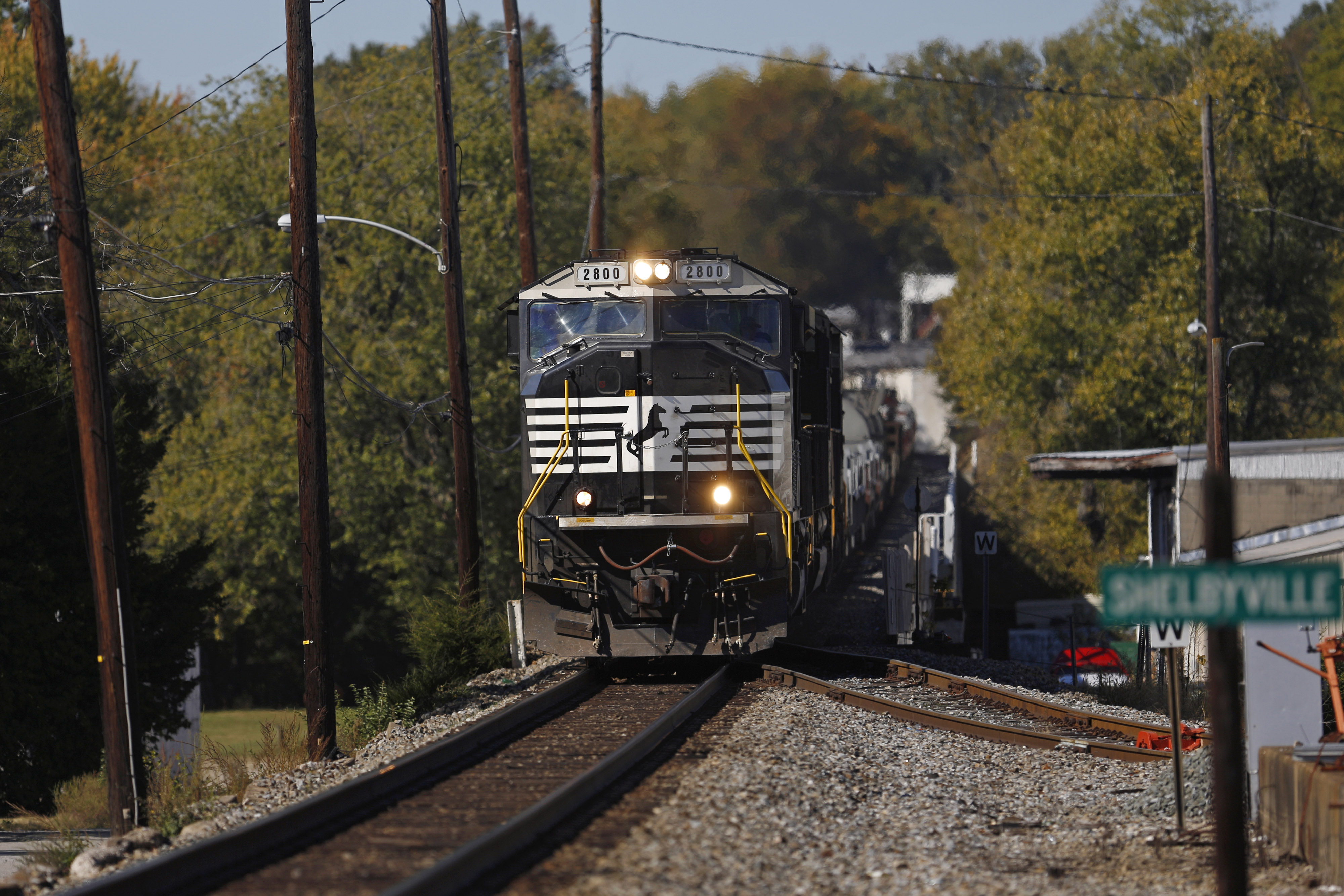 Norfolk Southern Corp. Trains Haul Freight Ahead Of Quarterly Earnings