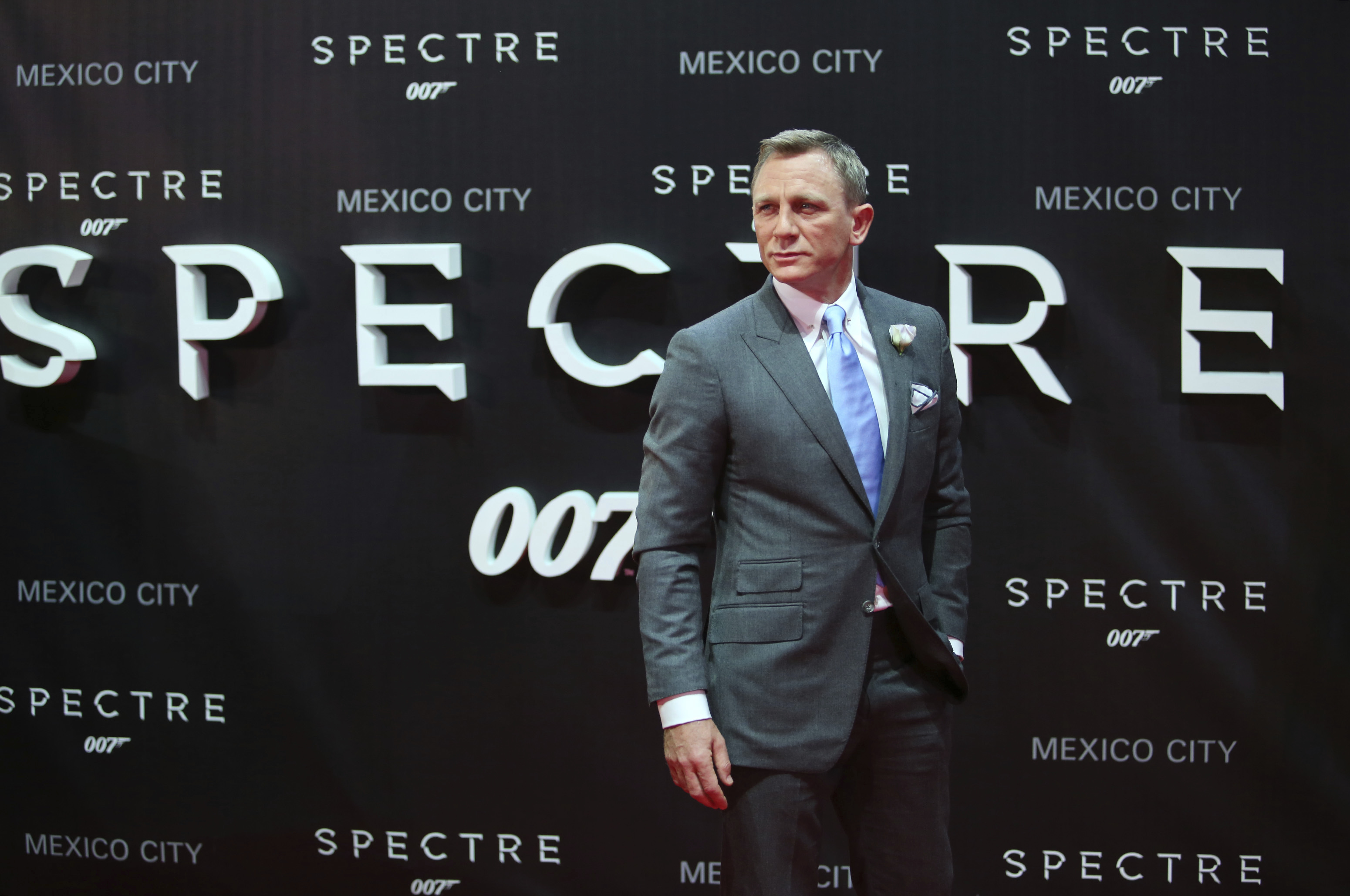 """""""Spectre"""" Premiere in Mexico City"""