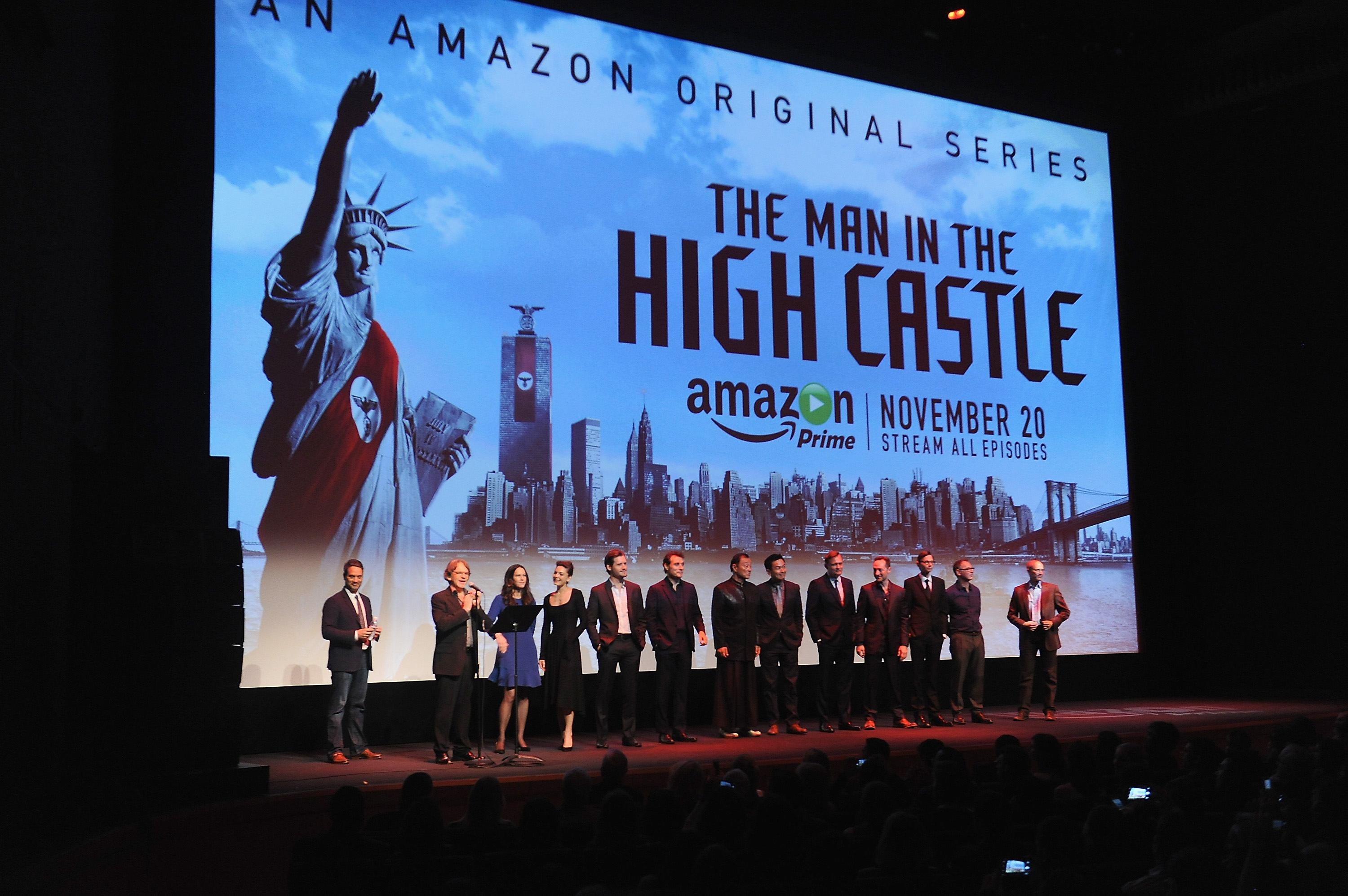 "NY Premiere Of Amazon Original's ""Man In The High Castle"""