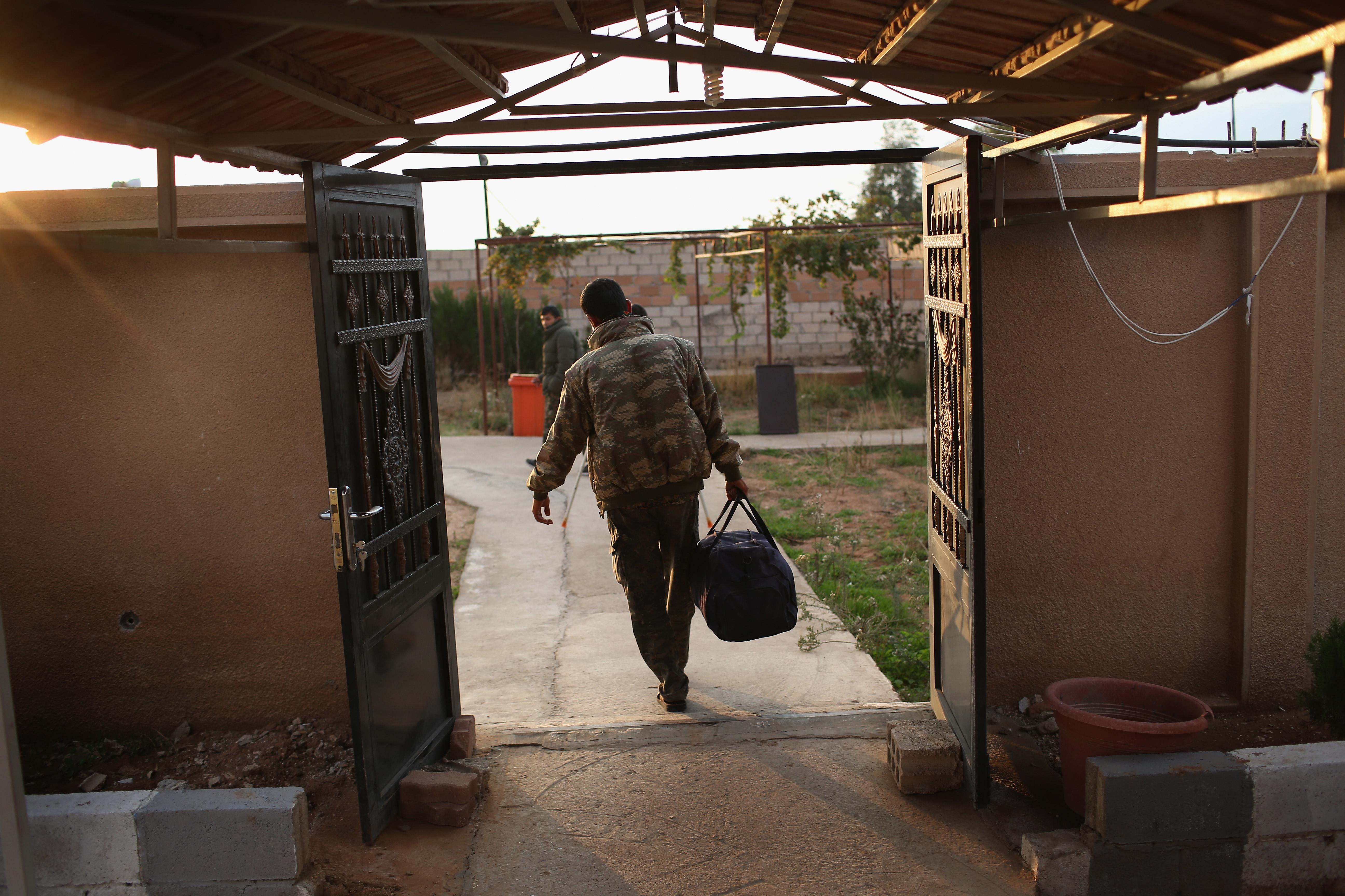 Syrian Kurdish Republic Of Rojava Becomes Bulwark In Battle Against ISIL