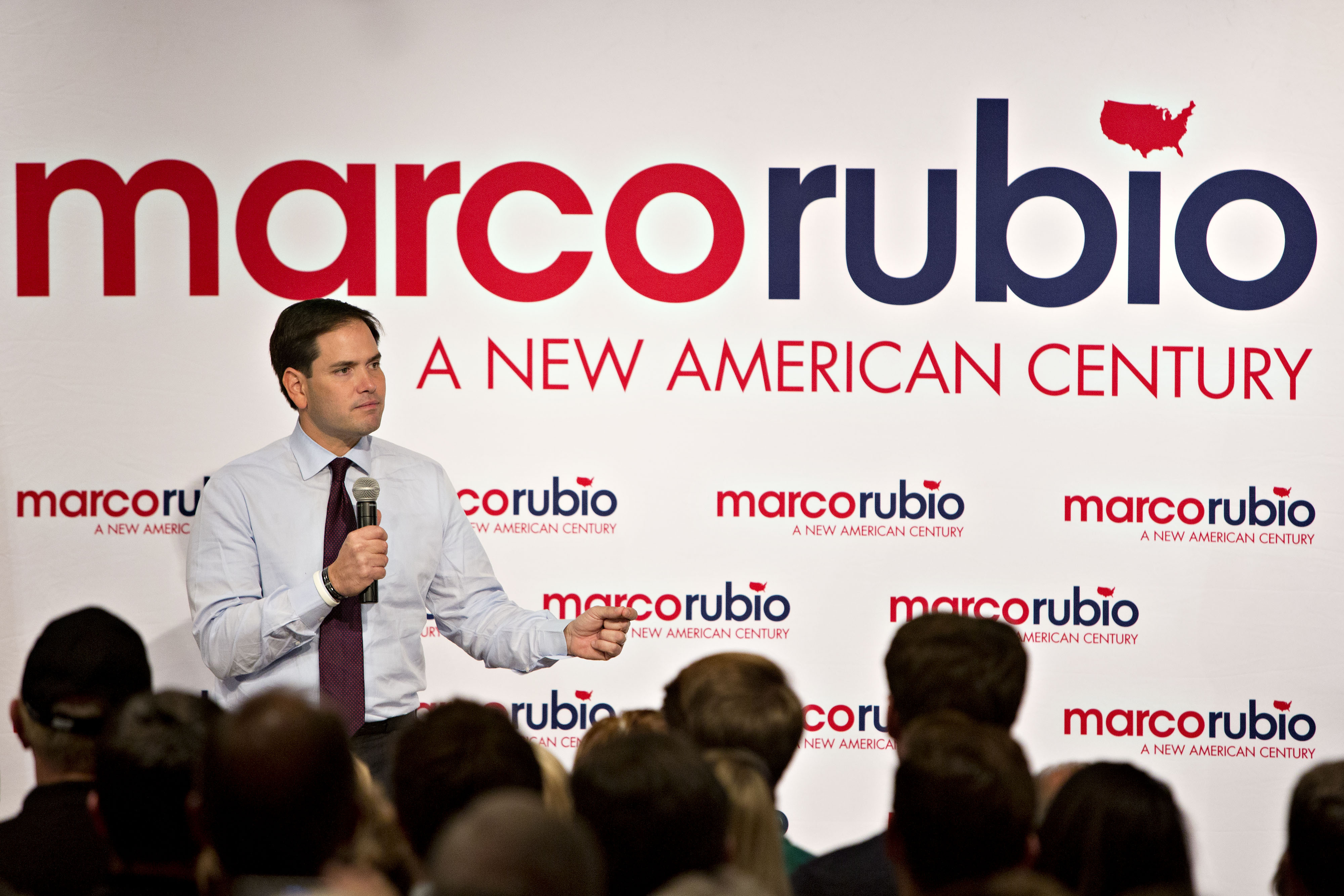 Marco Rubio Rallies With Supporters Ahead Of Republican Presidential Debate