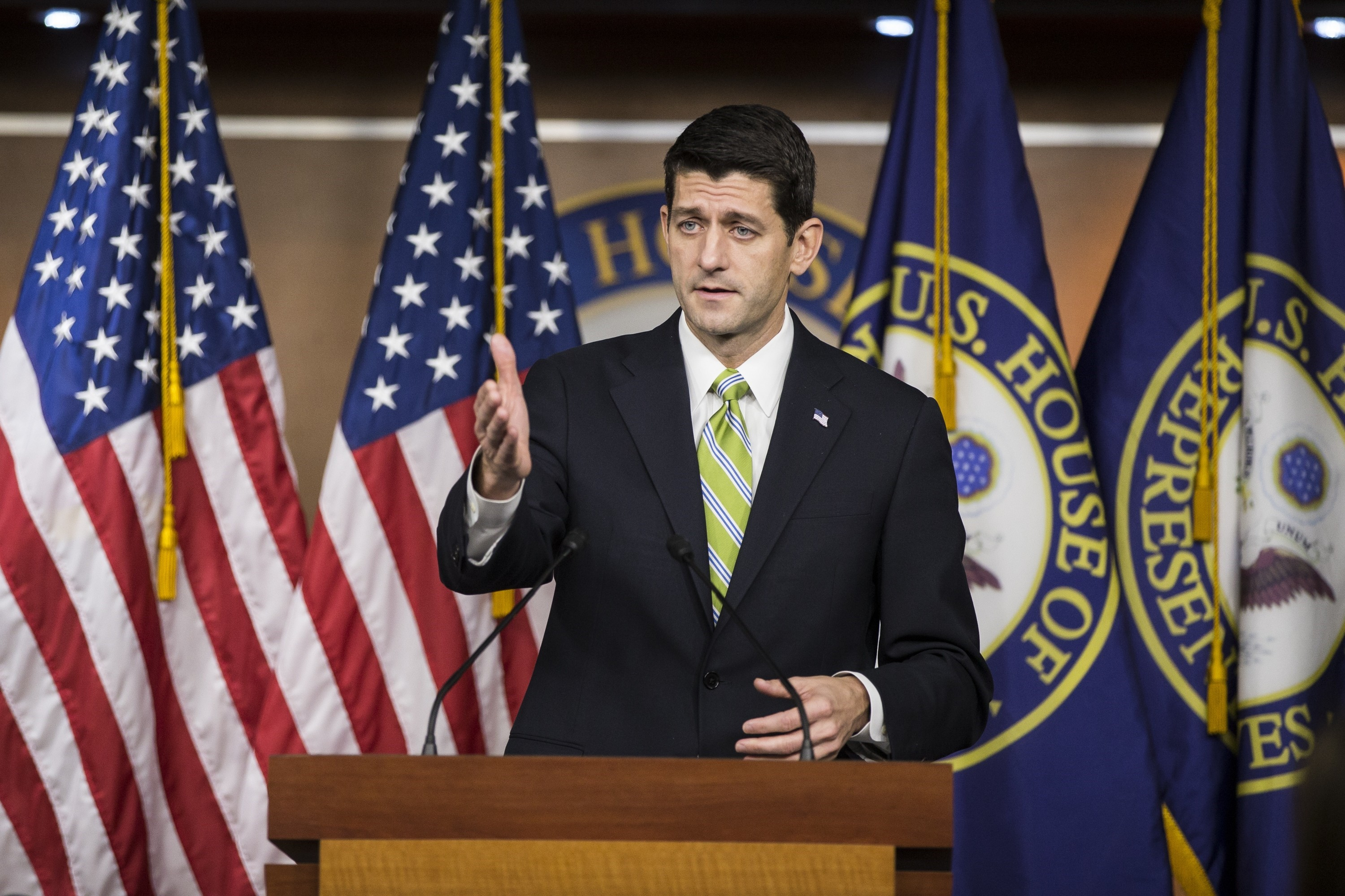 Speaker Paul Ryan speaks about Syrian Refugee Legislation