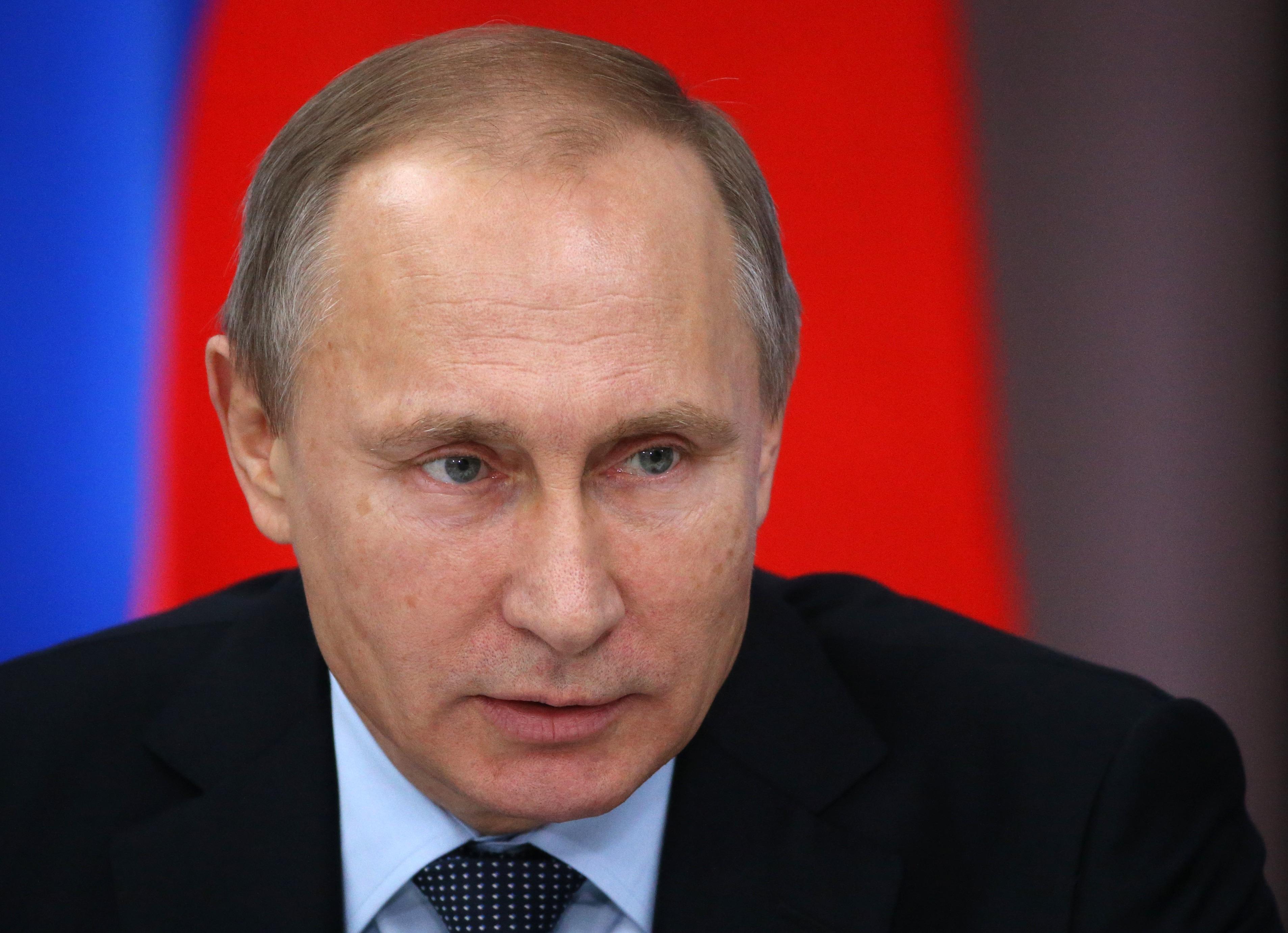 Vladimir Putin Attends State Council Presidium Meeting