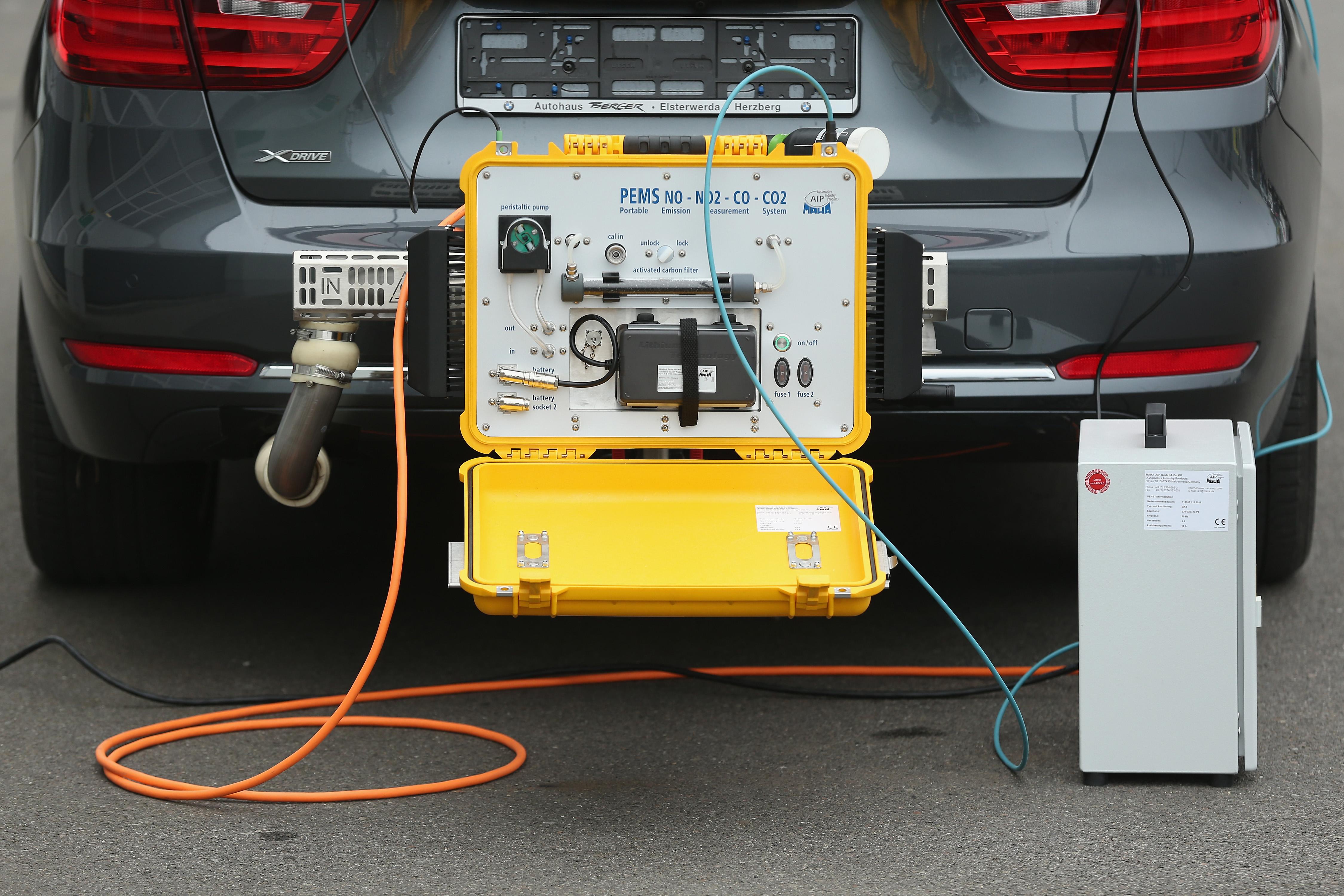 Emissions Testing At DEKRA Facility