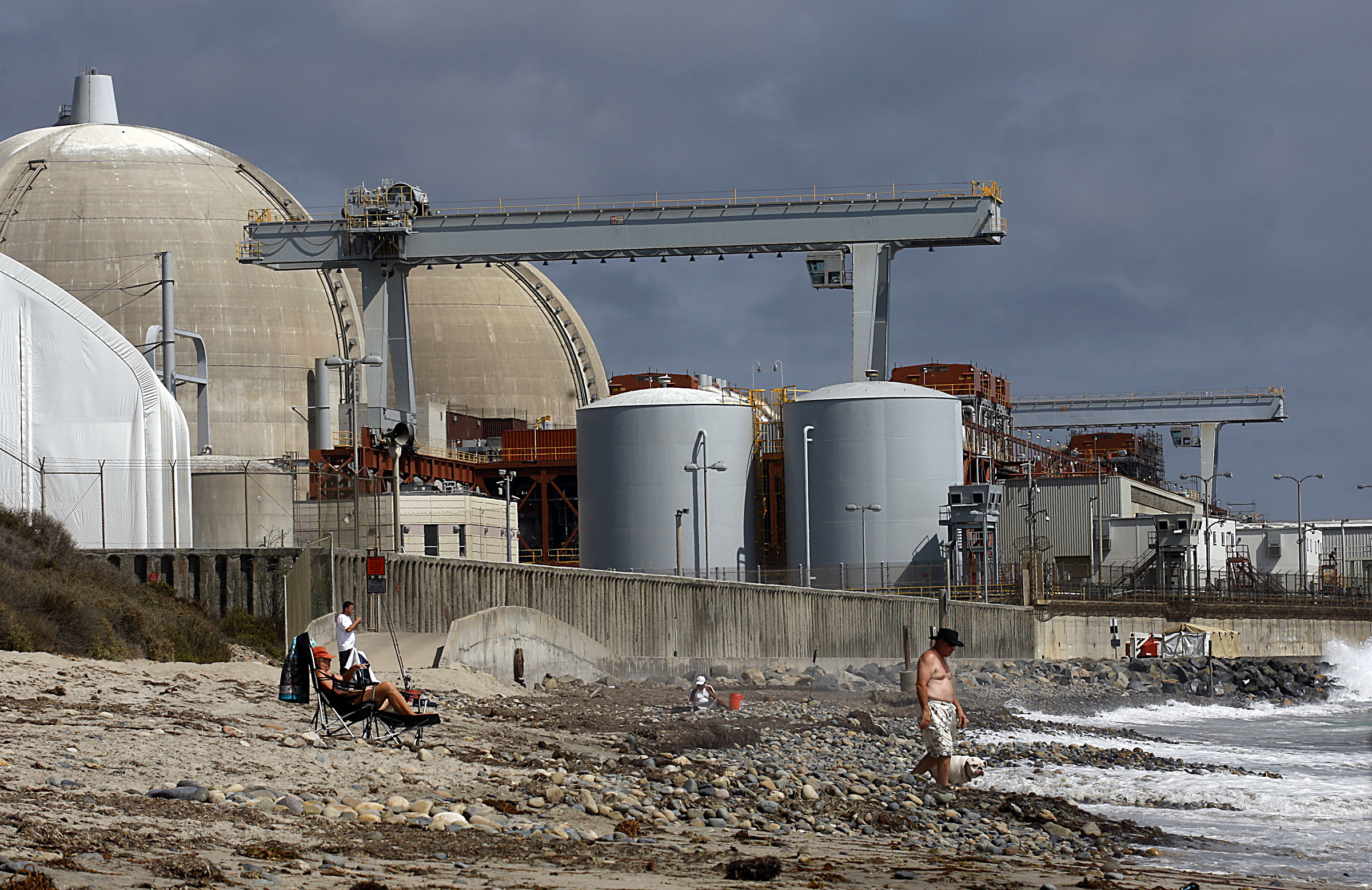 Portions of the Southern California Edison nuclear power plant in San Onofre have been shut down fo