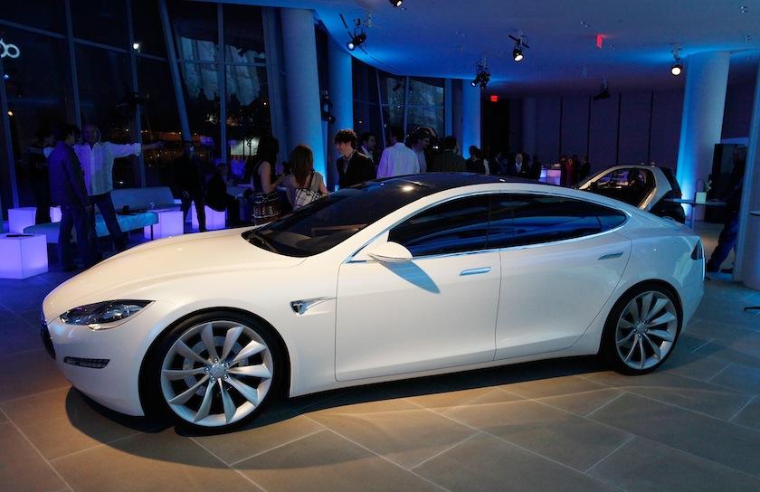 Tesla Model S Viewing - April 29, 2009