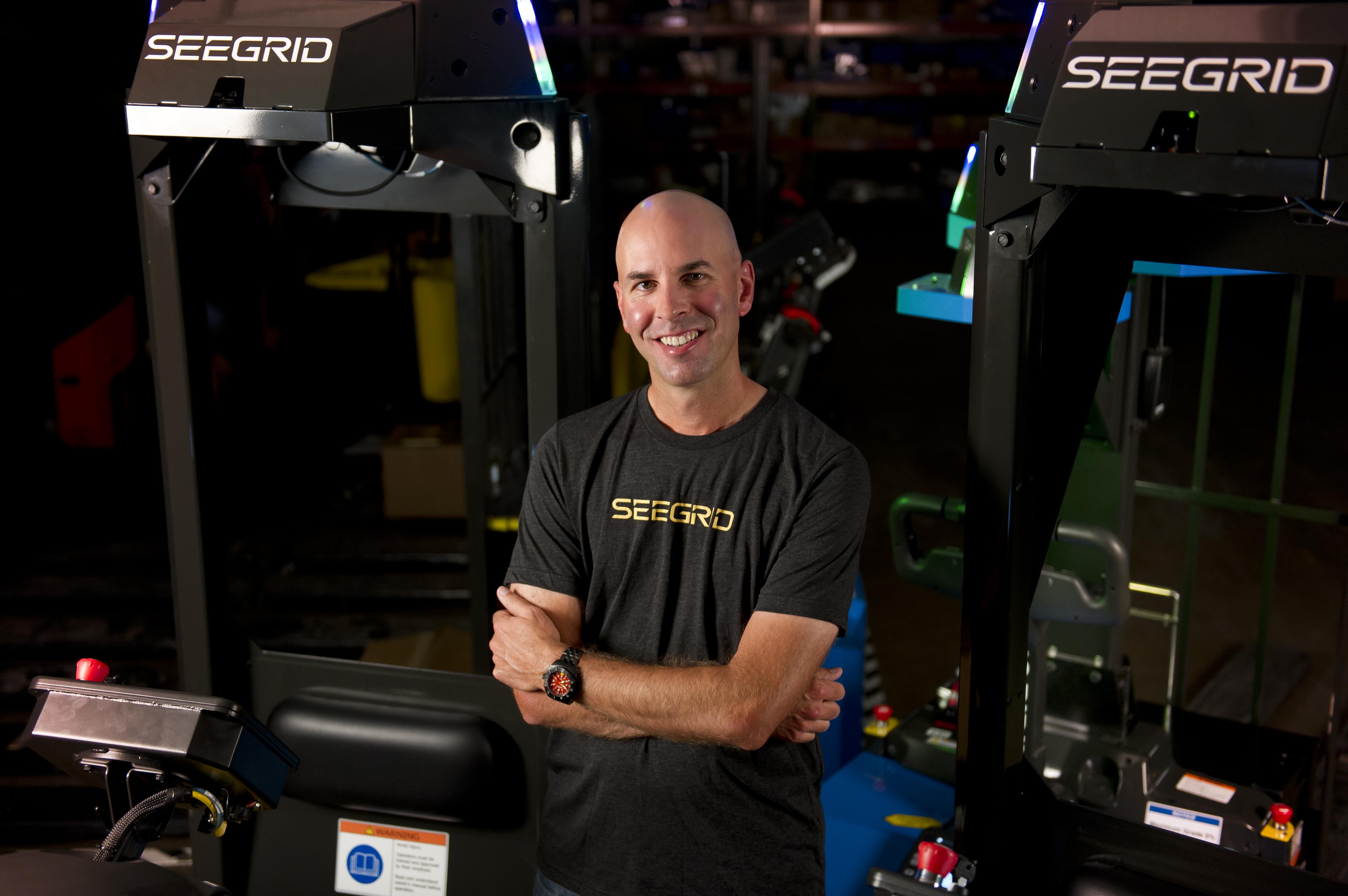 Jim Rock, CEO of Seegrid