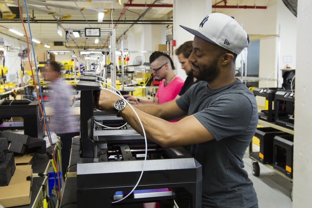 Stratasys subsidiary MakerBot opened a new factory in July. In October 2015, MakerBot announced its second round of layoffs this year.