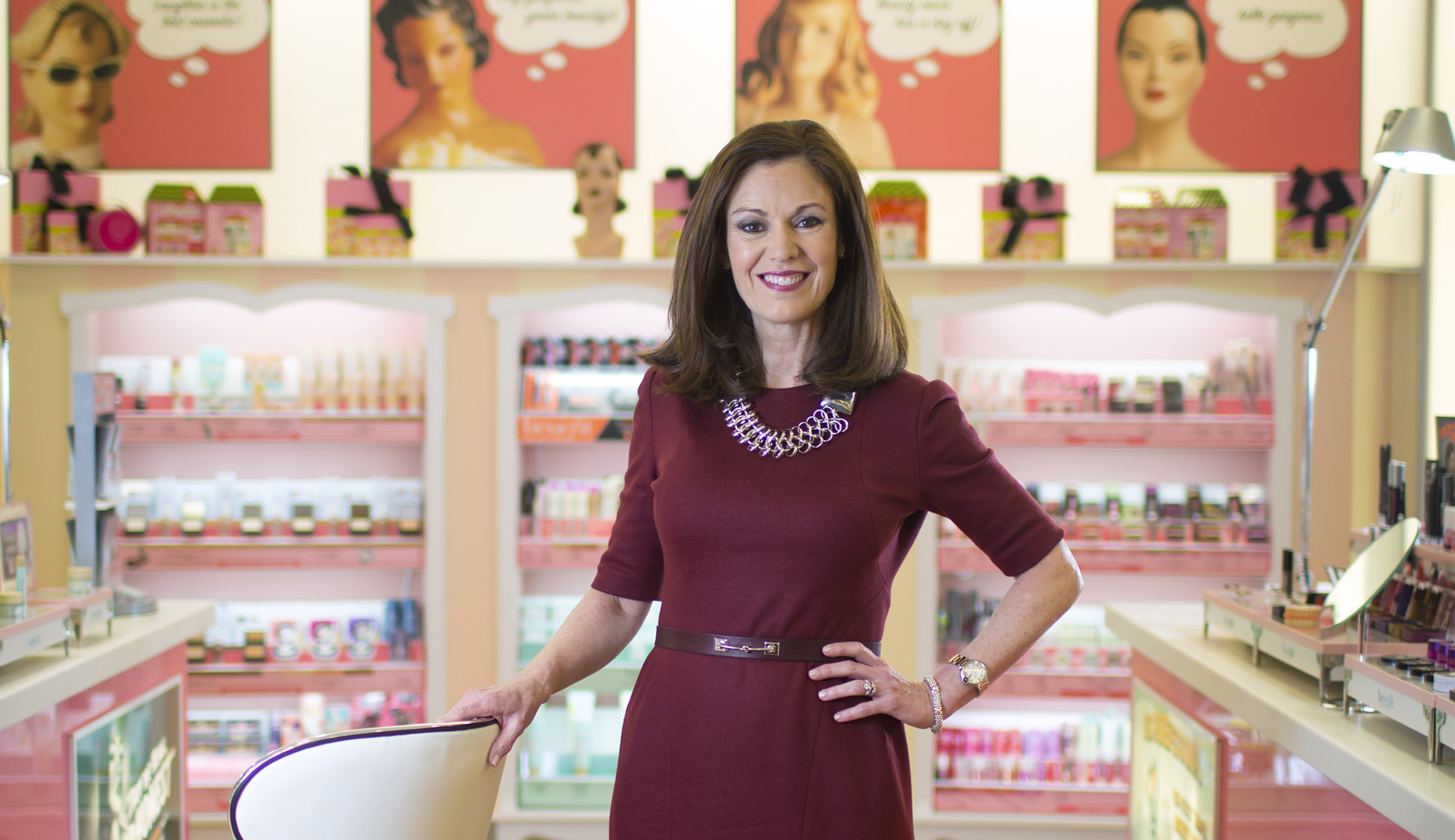 Jan. 15, 2015 - Chicago, IL, USA - Ulta CEO Mary Dillon poses for a portrait on Thursday, Jan. 15, 2015 at their Roosevelt Collection store in Chicago. (Credit Image: © Brian Cassella/TNS/ZUMA Wire)