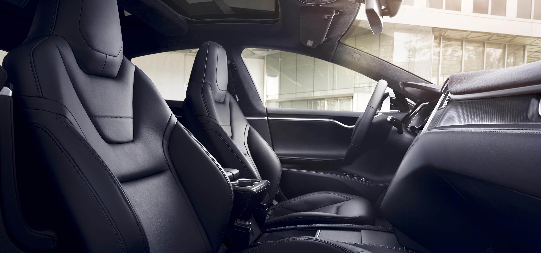 Tesla Model S interior seats