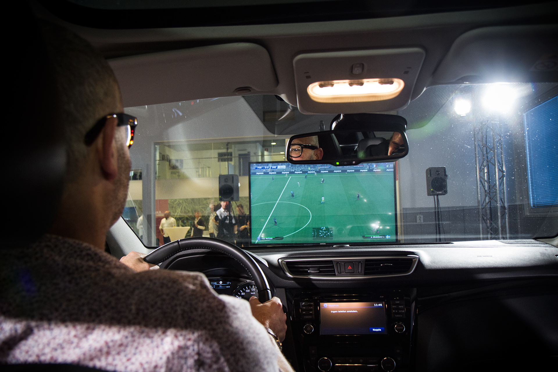 Nissan has turned a SUV into a PlayStation 4 game controller.