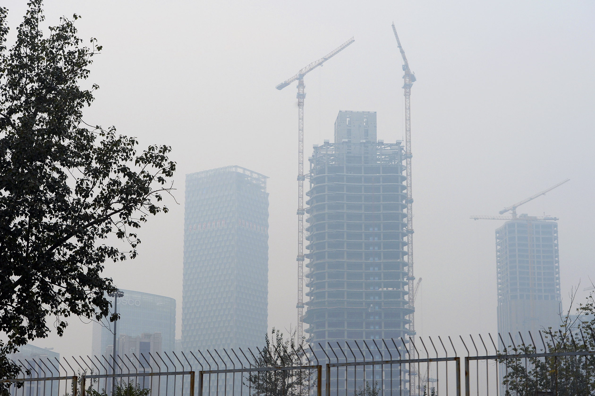 China's real estate sector appears to be on the up again.