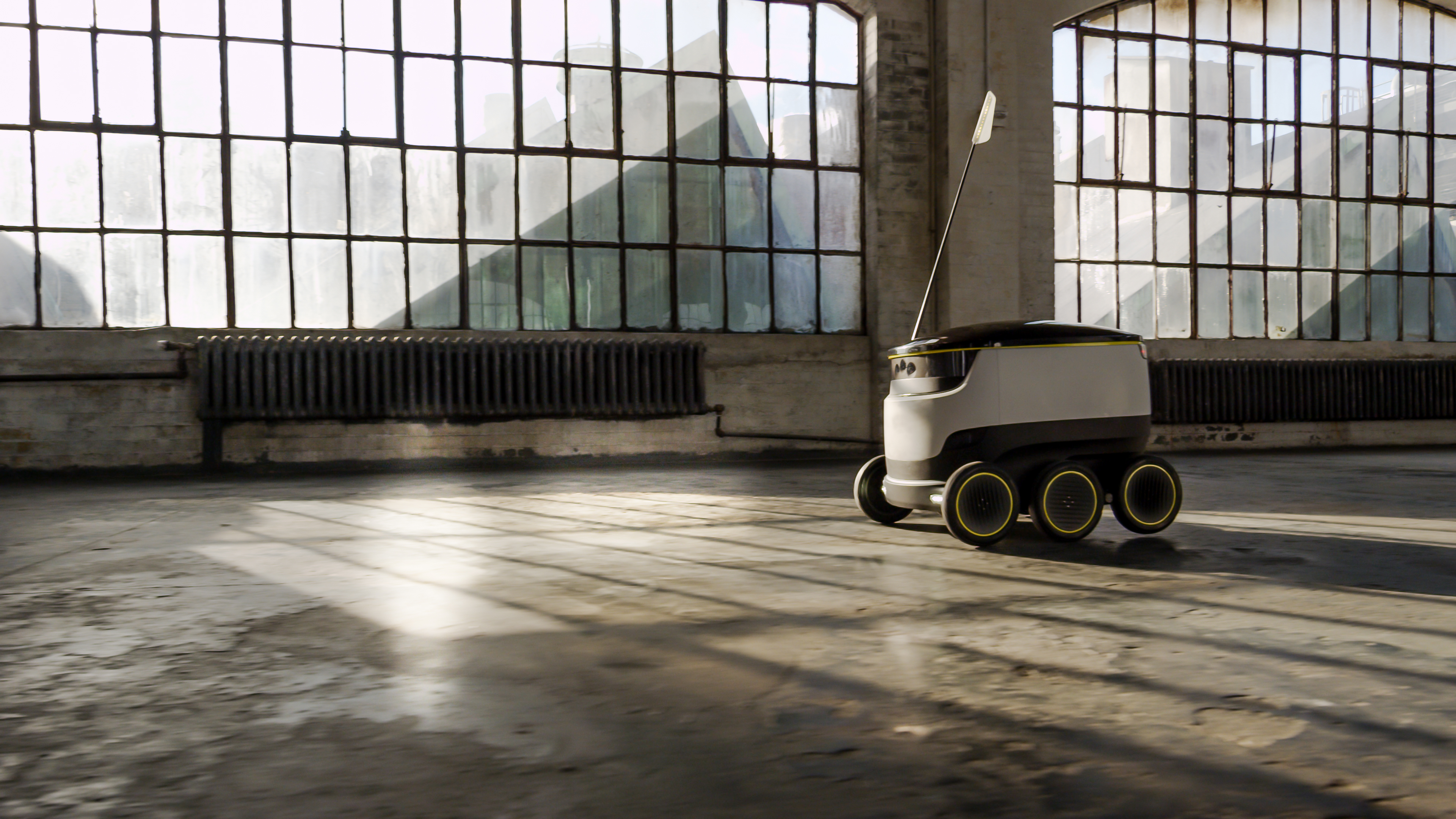 Starship Technologies' delivery robot