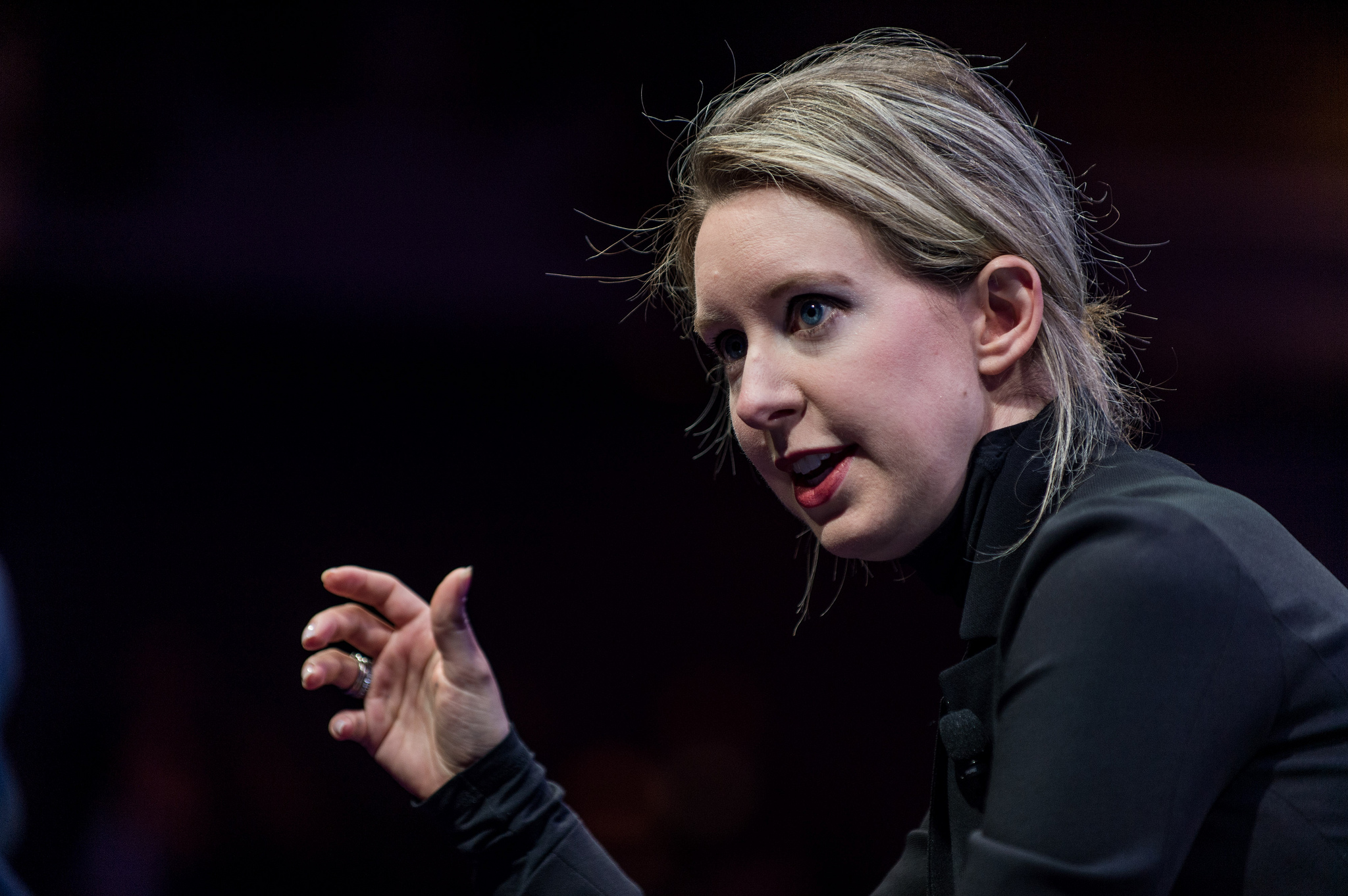 Elizabeth Holmes, Theranos founder and CEO