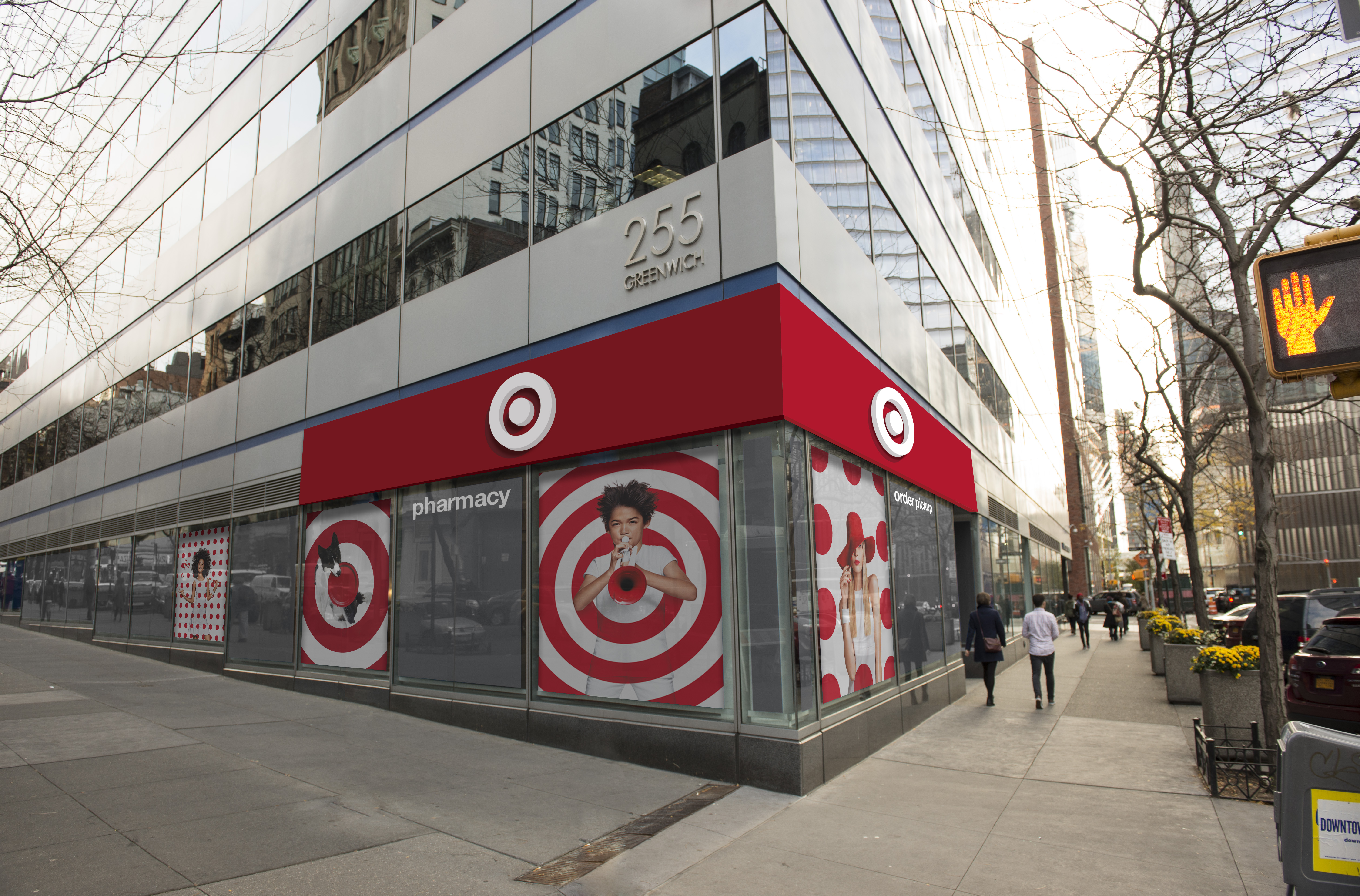 Rendering of the Target store planned for TriBeCa