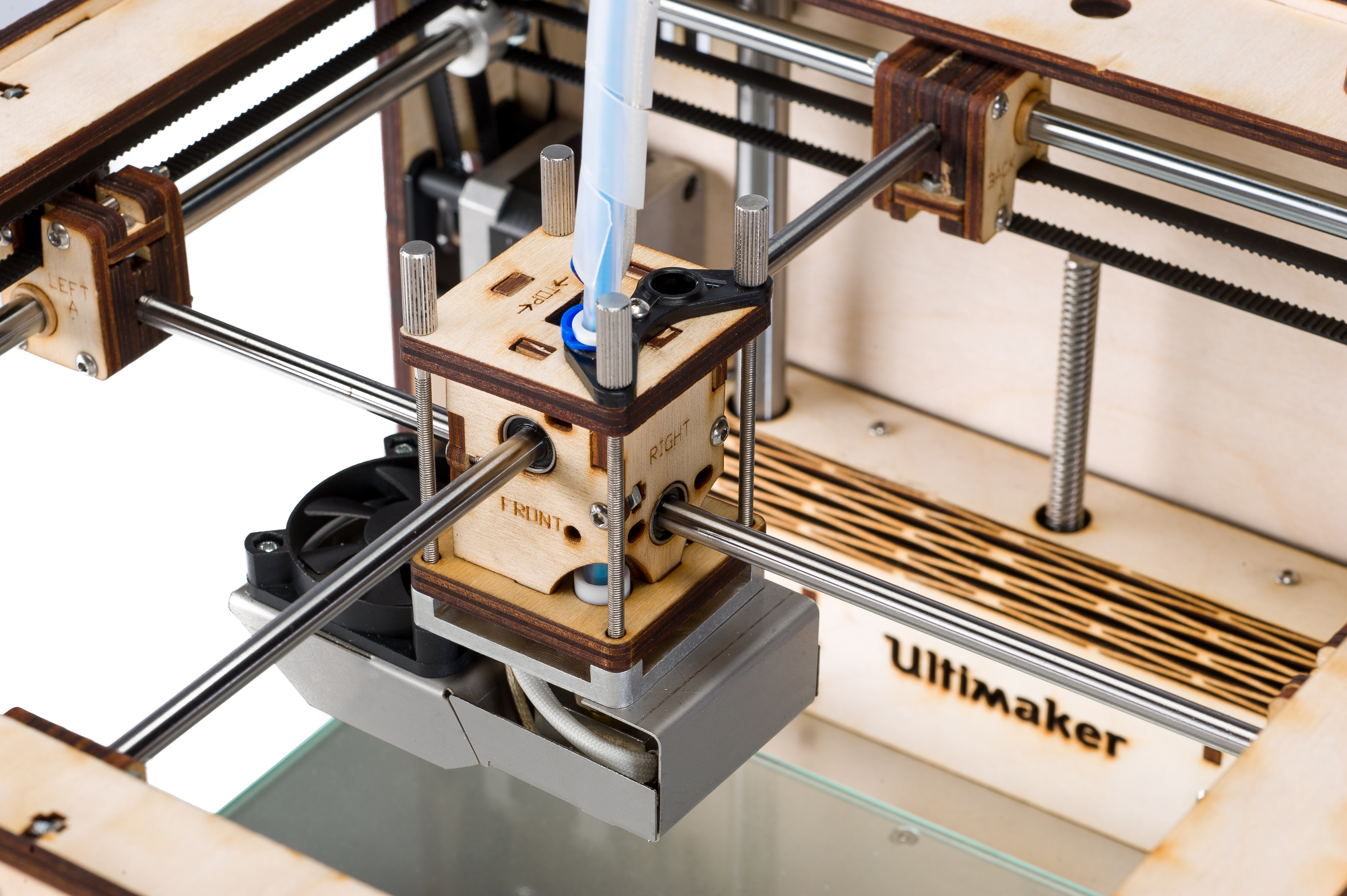 The Ultimaker was one of the 20 best desktop 3D printers ranked by 3D Hubs.