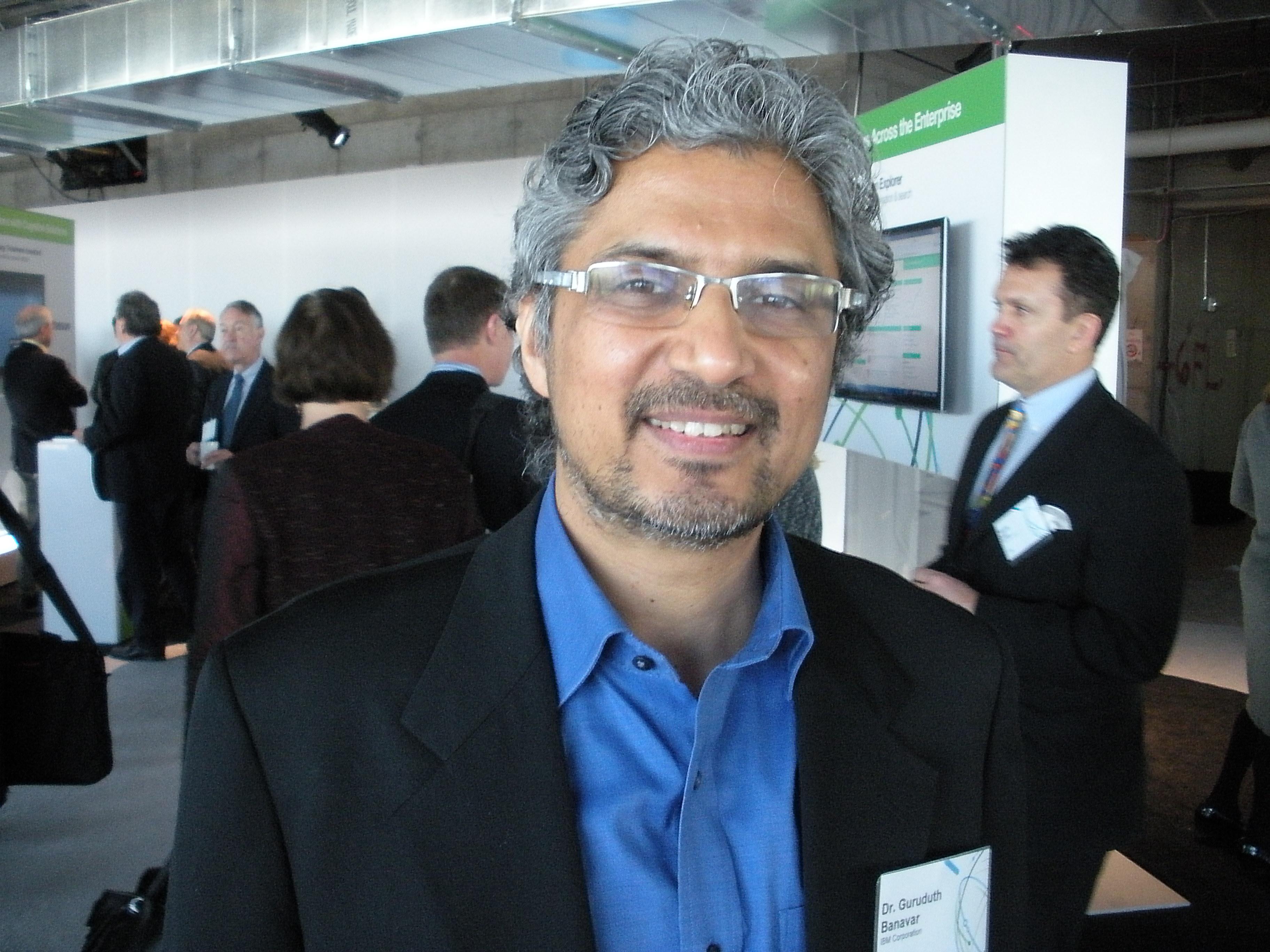 Guru Banavar, VP, Cognitive Computing Research at IBM.