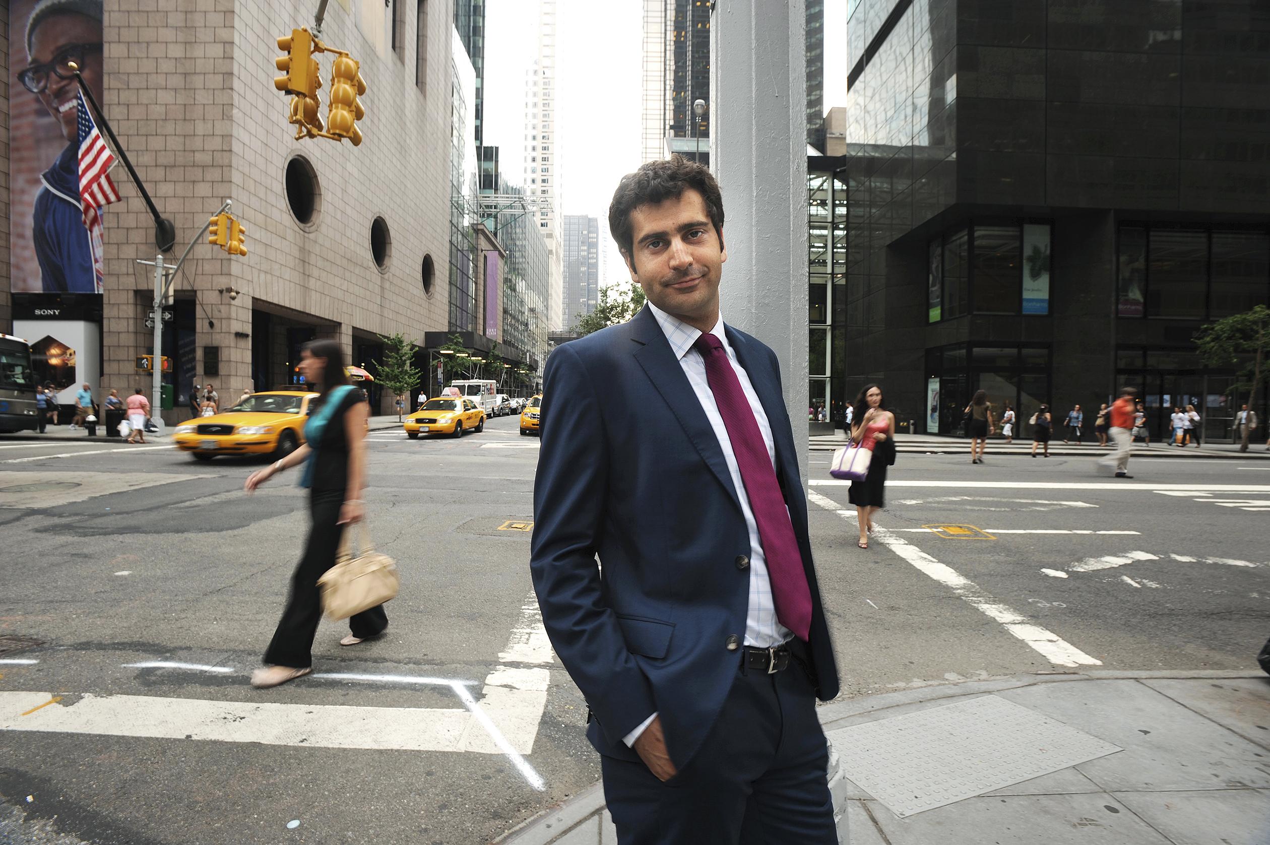 Sahm Adrangi, Principal at Kerrisdale Capital Management