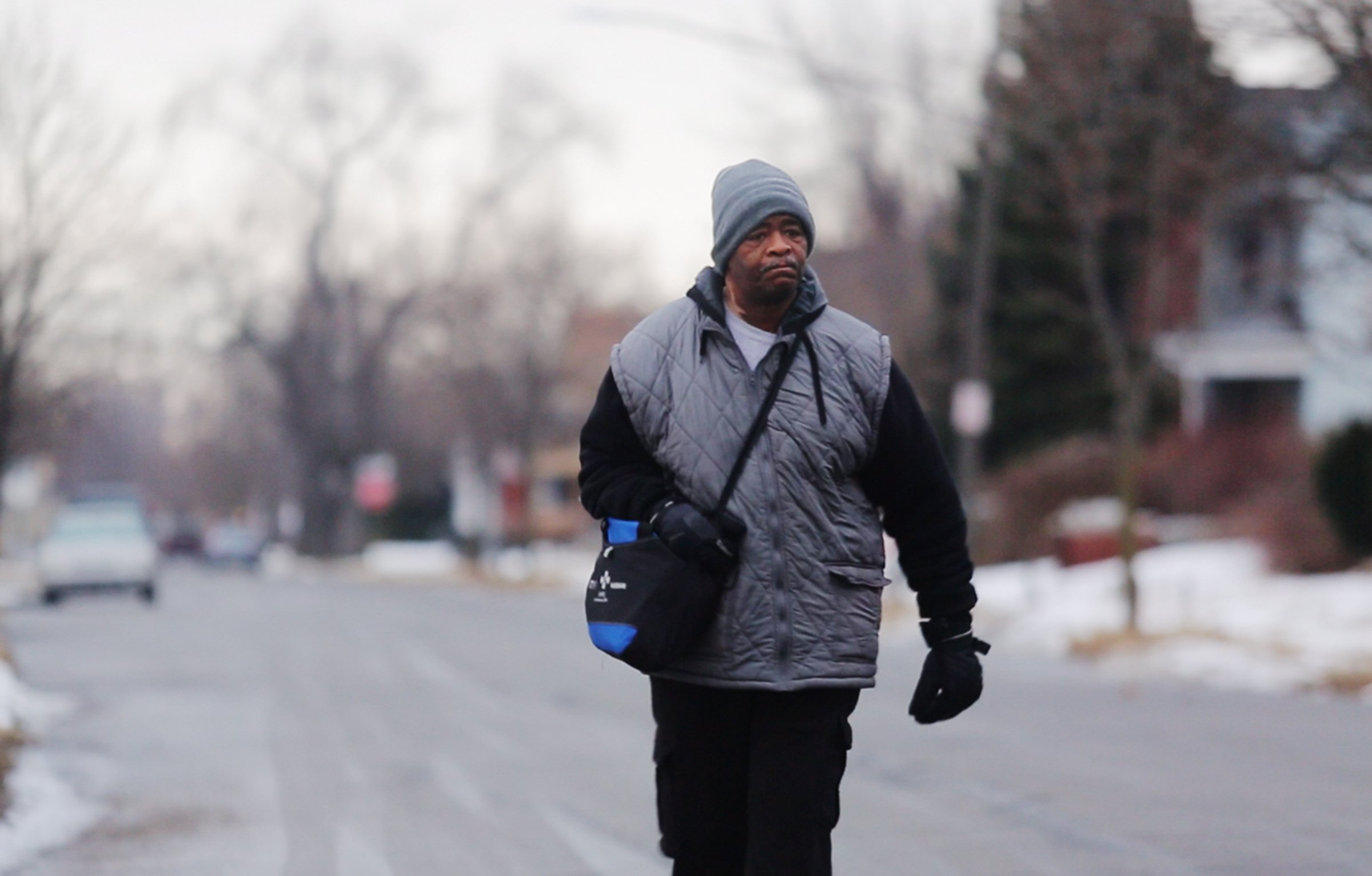 Detroit's James Robertson Walks 21 Miles A Day To Work