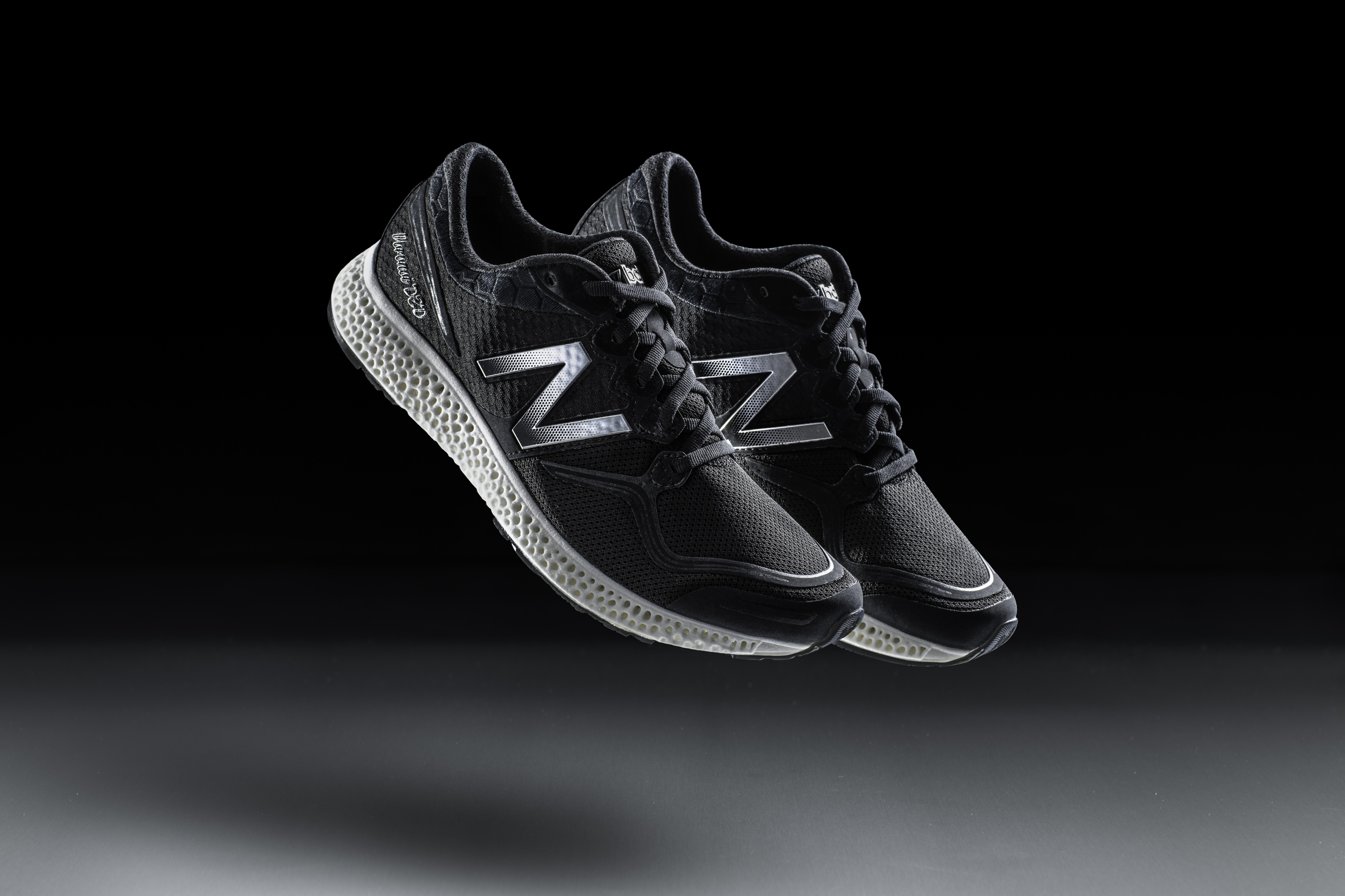 New Balance will show off its running shoe with the 3D-printed midsole at the 2016 Consumer Electronics Show.